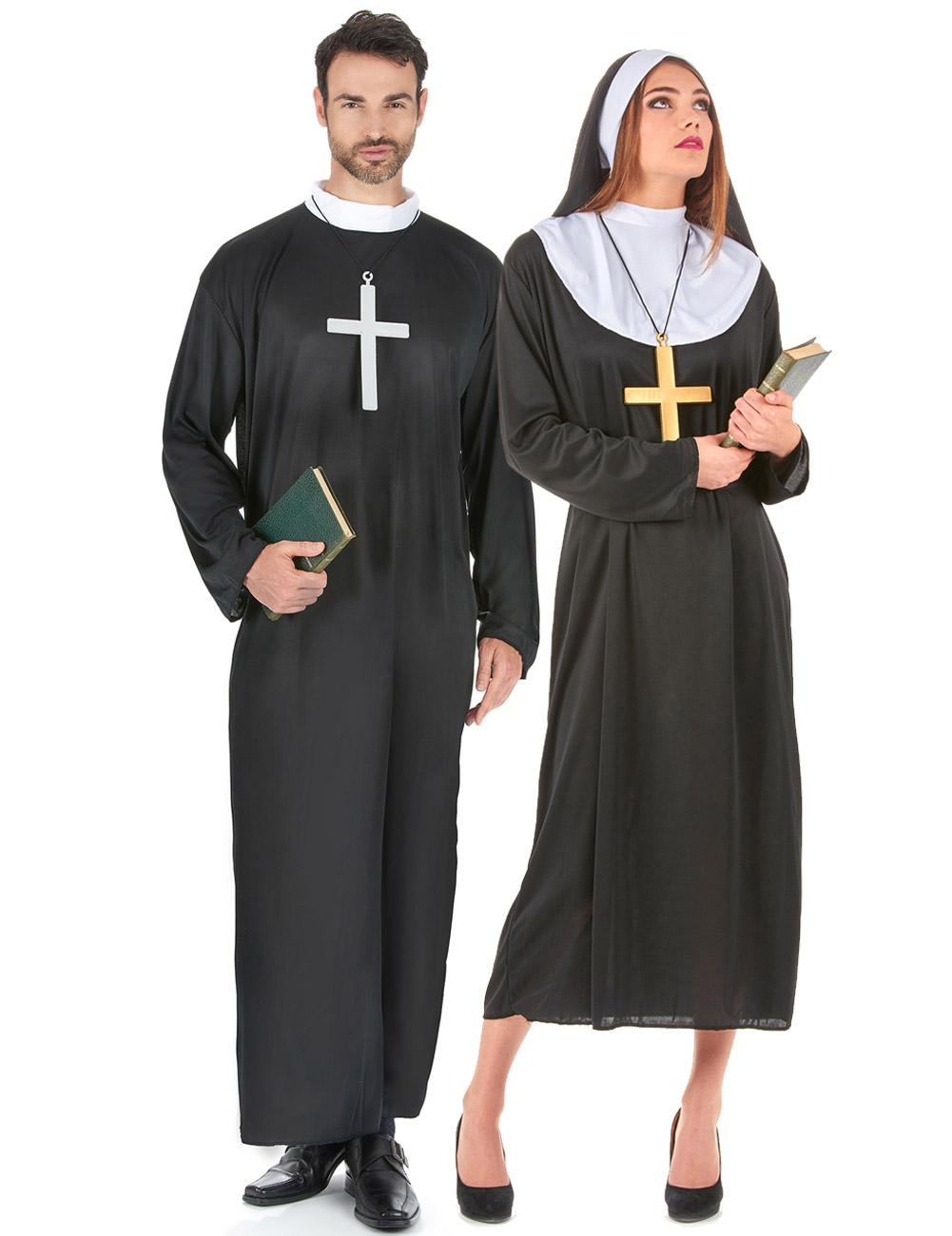 Costume uomo donna  coppia di religiosi su VegaooParty eb8a589fb3d