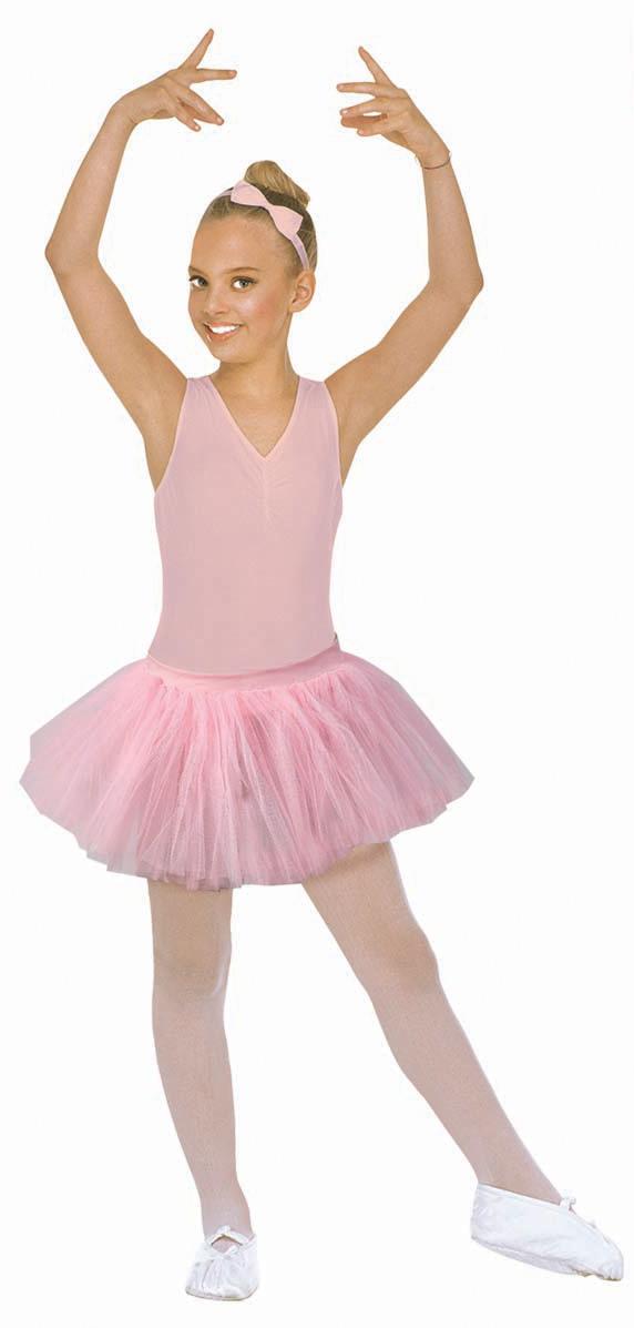 Gonna di tutù ballerina rosa bimba su vegaooparty negozio di