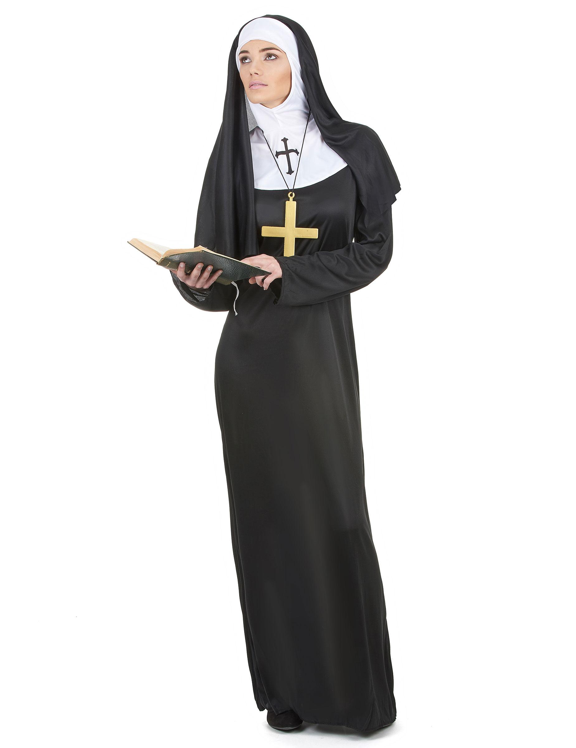 Costume da suora per donna su VegaooParty e2ac02f92771