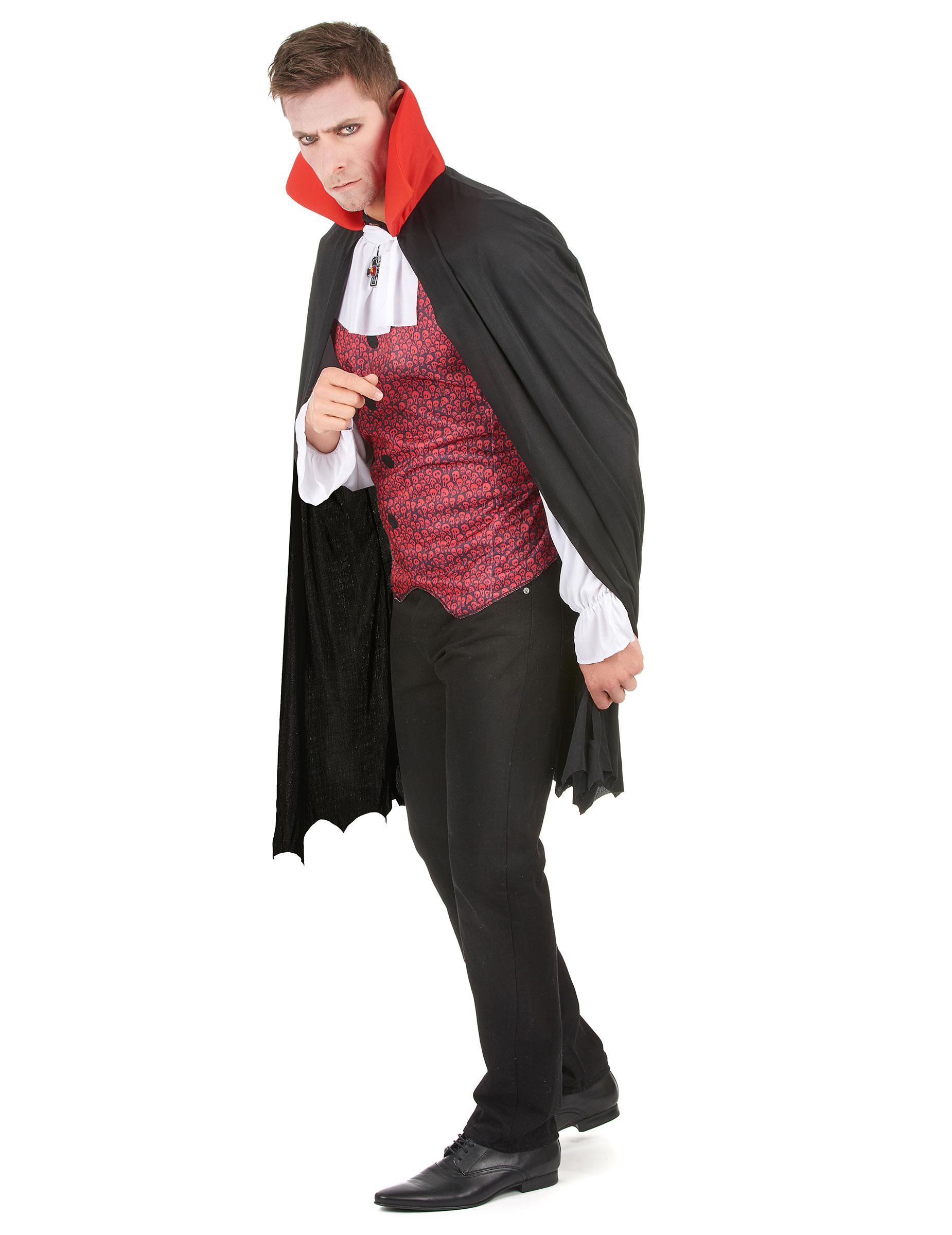 Costume vampiro Halloween per uomo su VegaooParty 70456fab0392