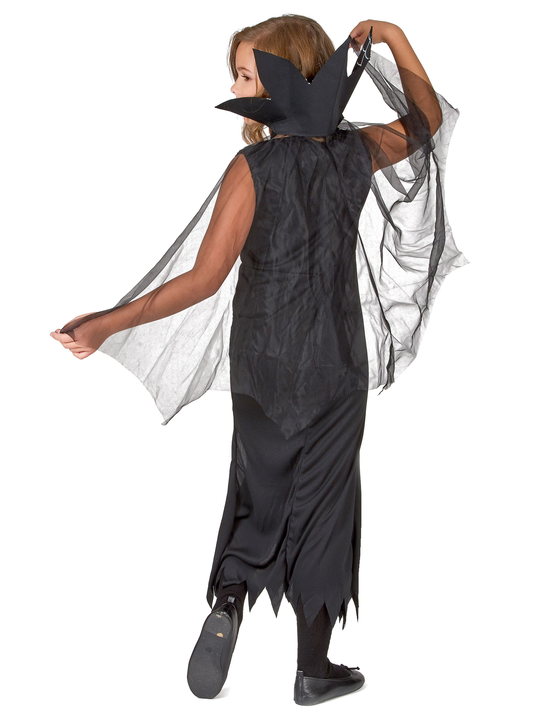 Costume da strega con ragnatele bambina su VegaooParty 1dbeb11ab0c0