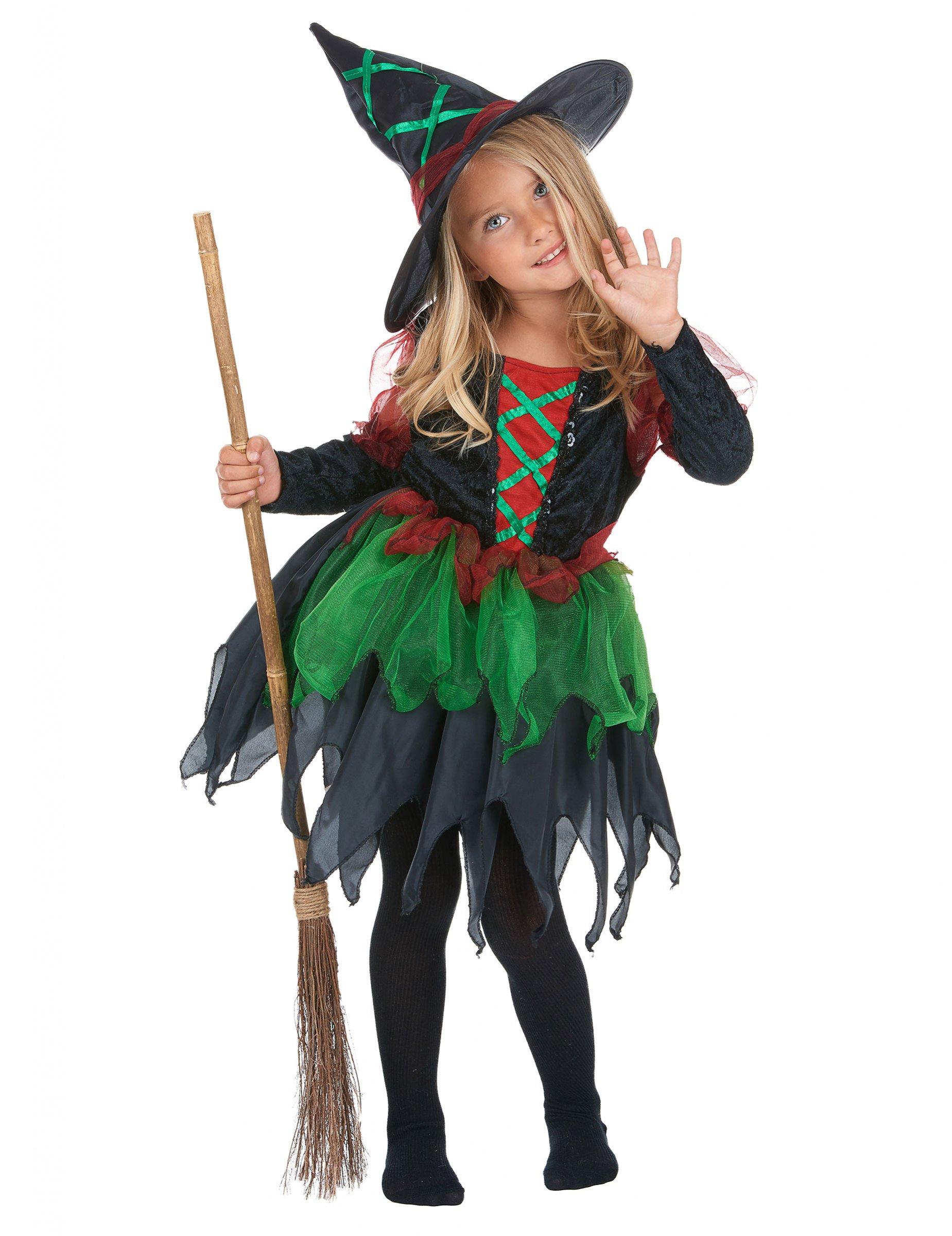 altamente elogiato personalizzate bel design Costume da strega dei boschi per ragazza su VegaooParty, negozio di  articoli per feste