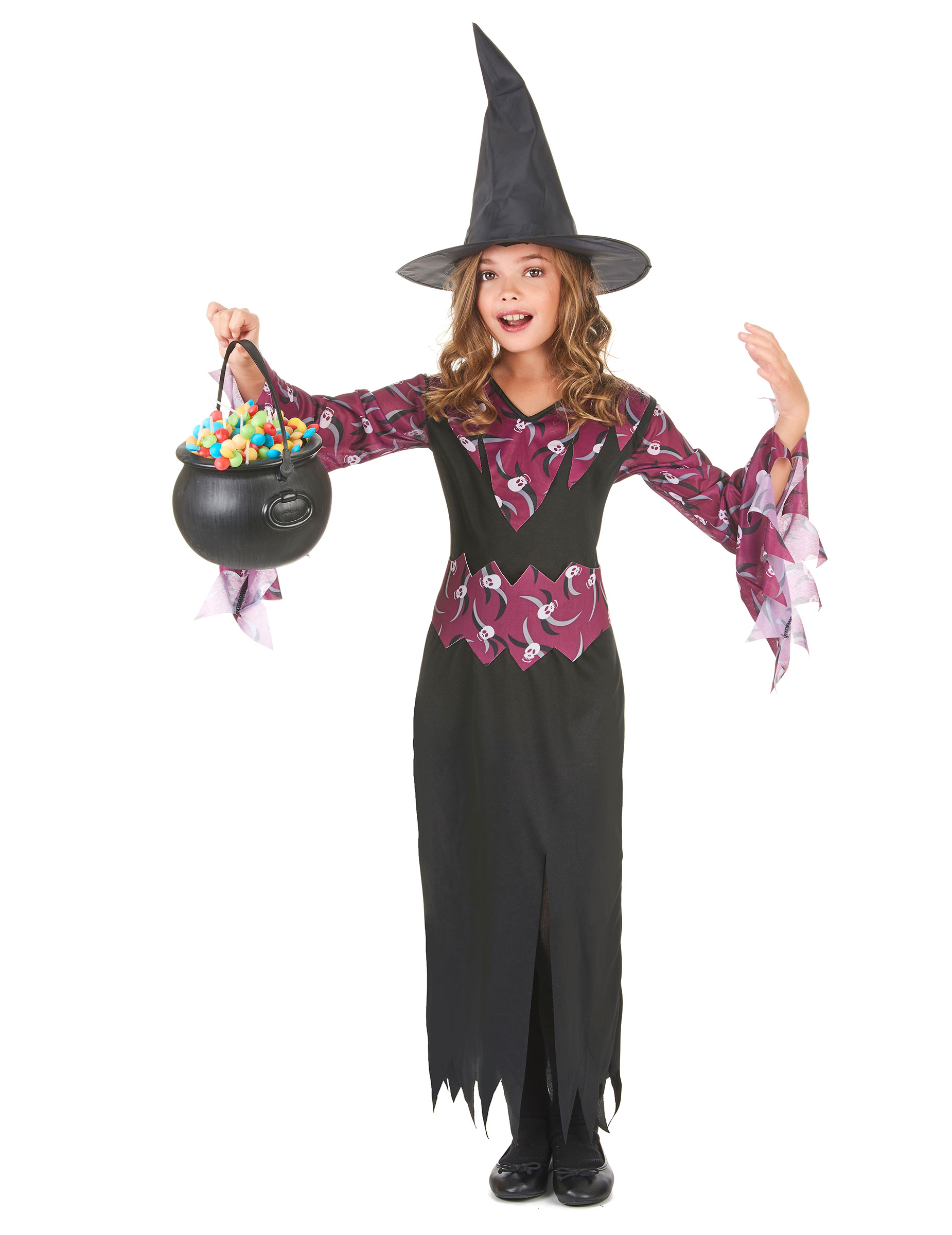 Vestiti Halloween Strega.Costume Di Halloween Da Strega Per Ragazza Su Vegaooparty Negozio Di Articoli Per Feste
