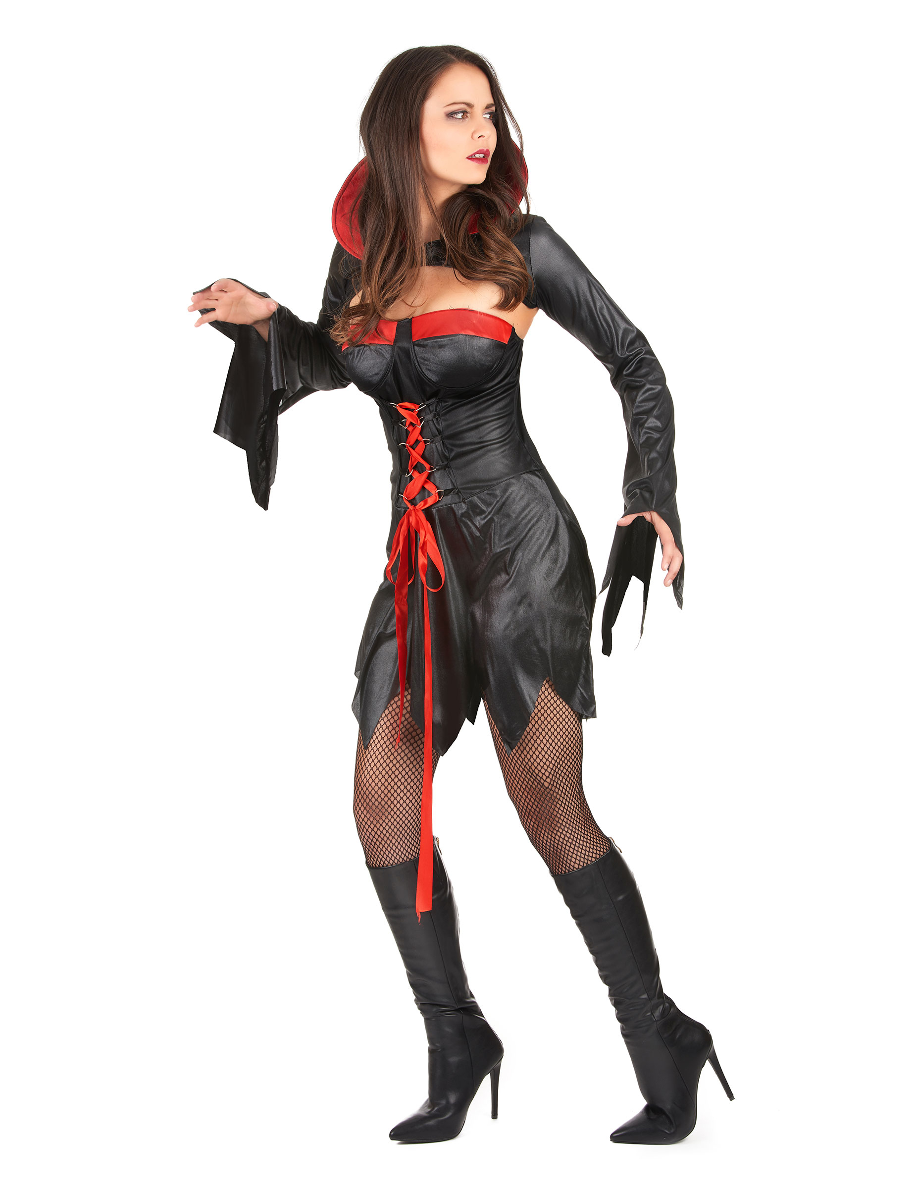 Vestito vampiro sexy halloween donna su VegaooParty 24f86219566f