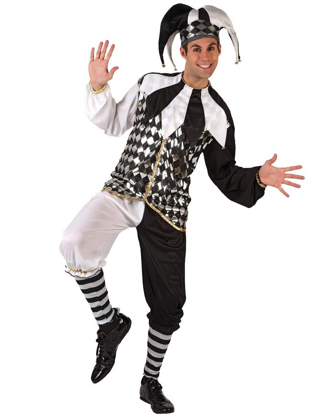 scarpe a buon mercato orologio pacchetto alla moda e attraente Costume di carnevale per adulto Arlecchino su VegaooParty, negozio di  articoli per feste