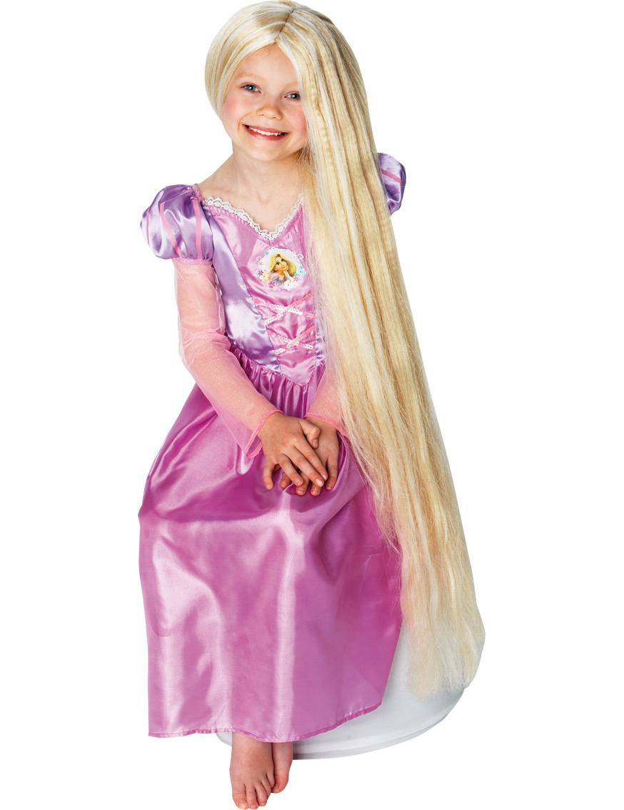 Parrucca Principessa Barbie Raperonzolo Per Bambina Su Vegaooparty
