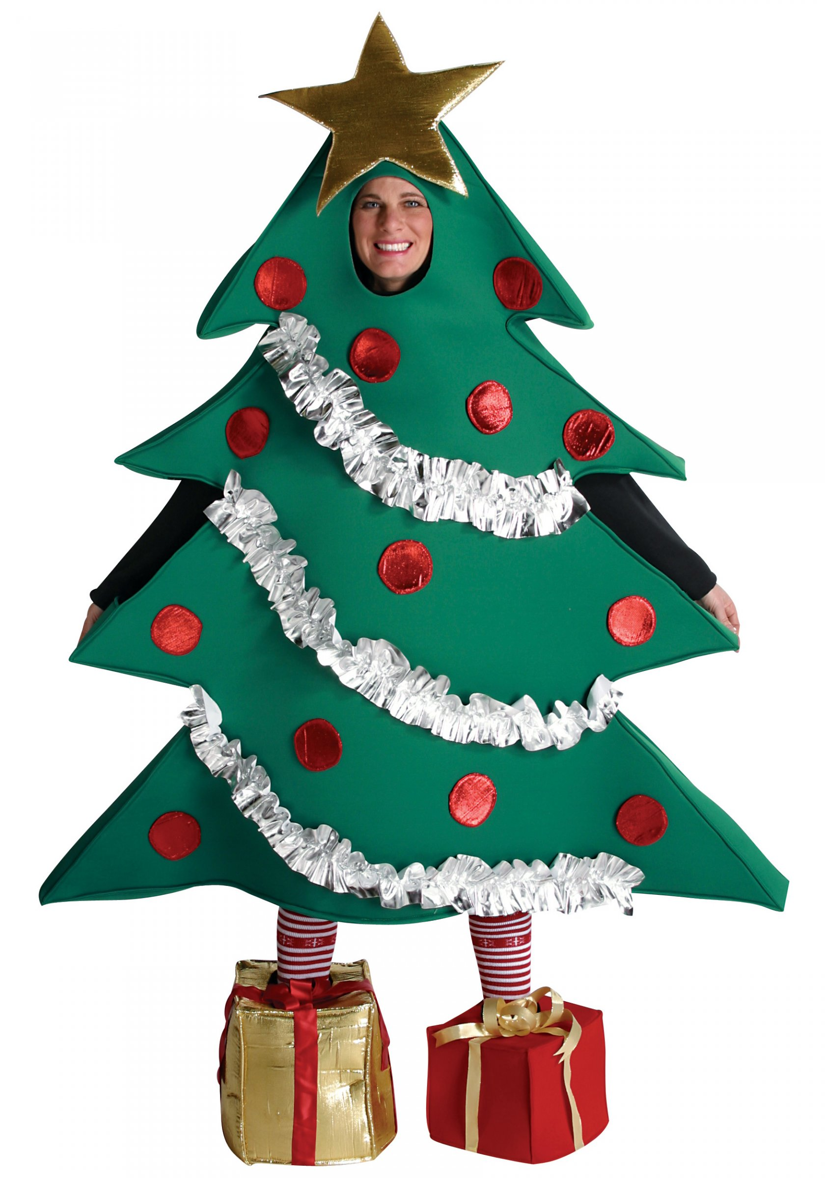 aefd8bde90 Costume albero di Natale per adulto su VegaooParty, negozio di ...