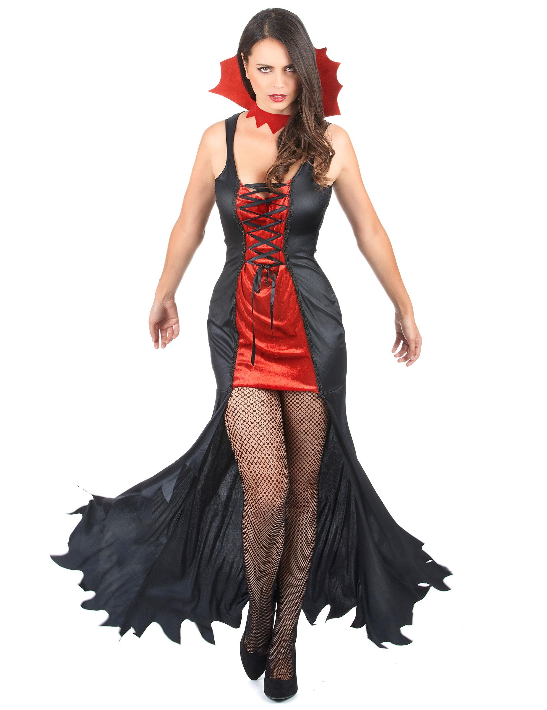 Costume da vampiro di Halloween per donna su VegaooParty 9ee341b2b3e2