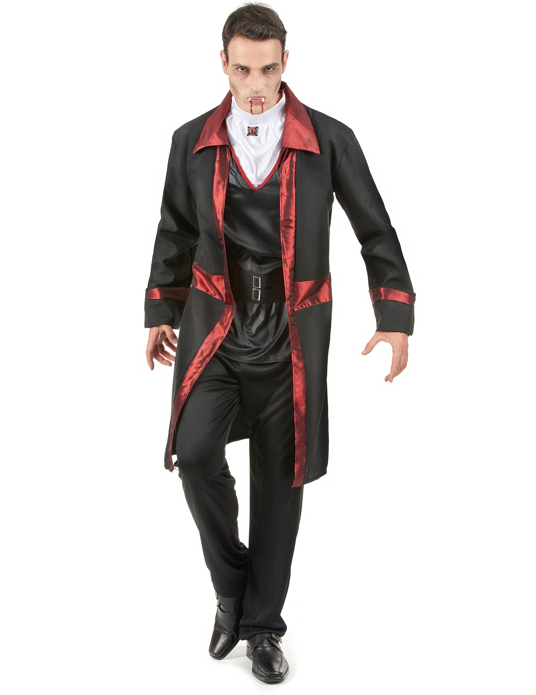 Costume da vampiro da uomo per Halloween su VegaooParty b9fa1adb0d67