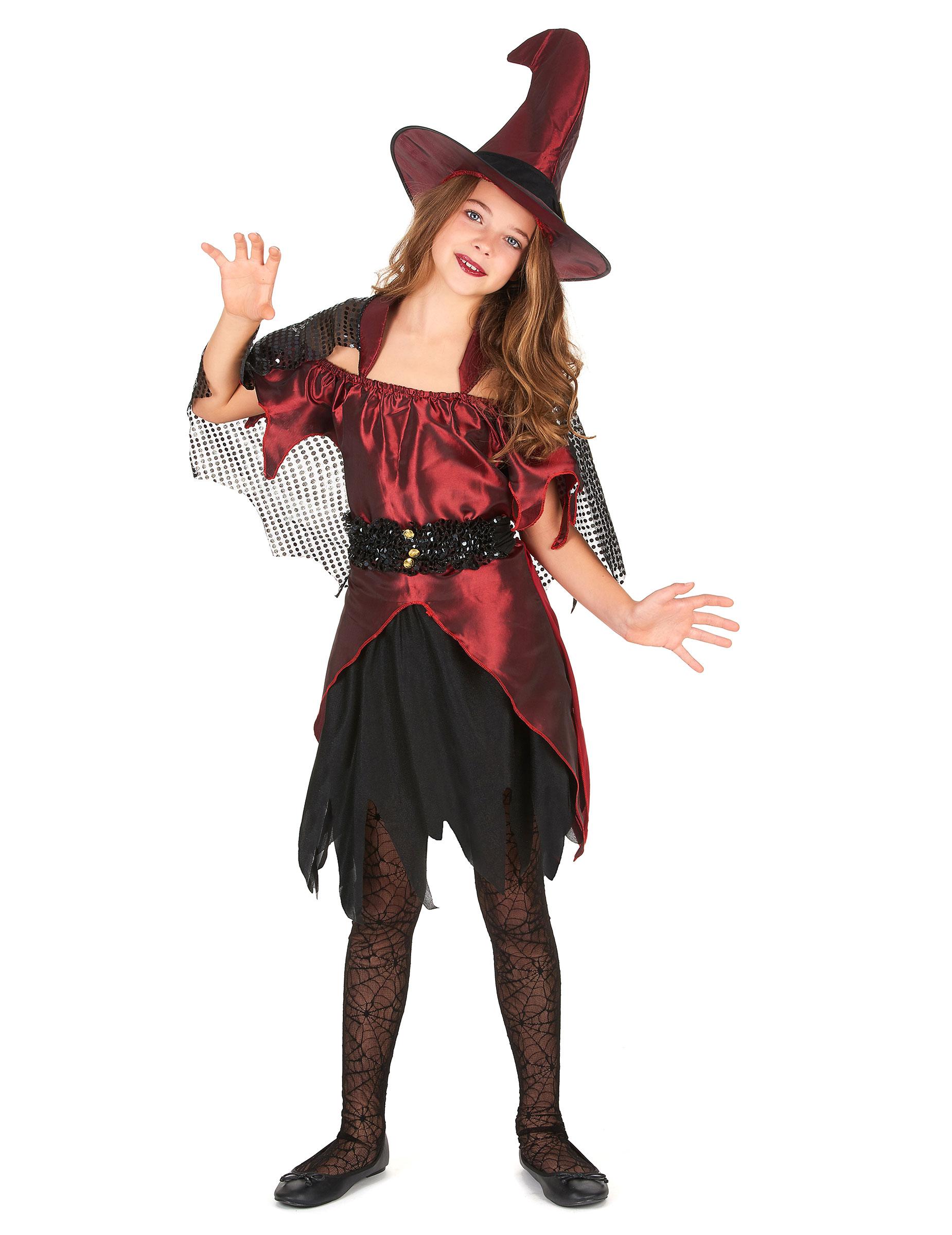 Costume da strega per ragazza ad Halloween su VegaooParty 1183542f43a3