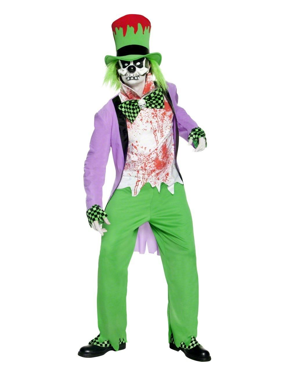 e6f349c7fd40 Costume da clown malefico adulti Halloween su VegaooParty