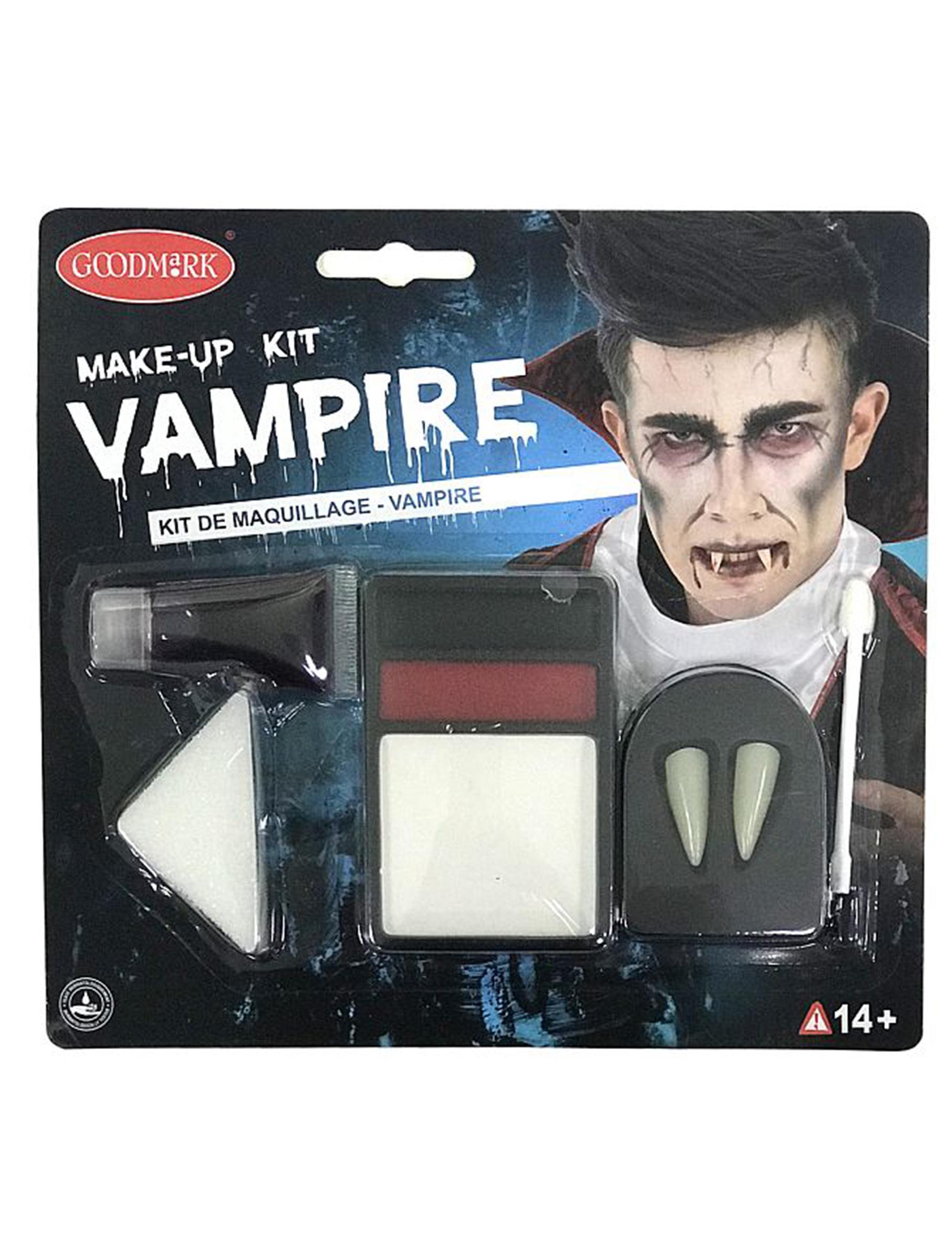 Kit trucco da vampiro per adulti per Halloween su VegaooParty ... 9d7b873b6974