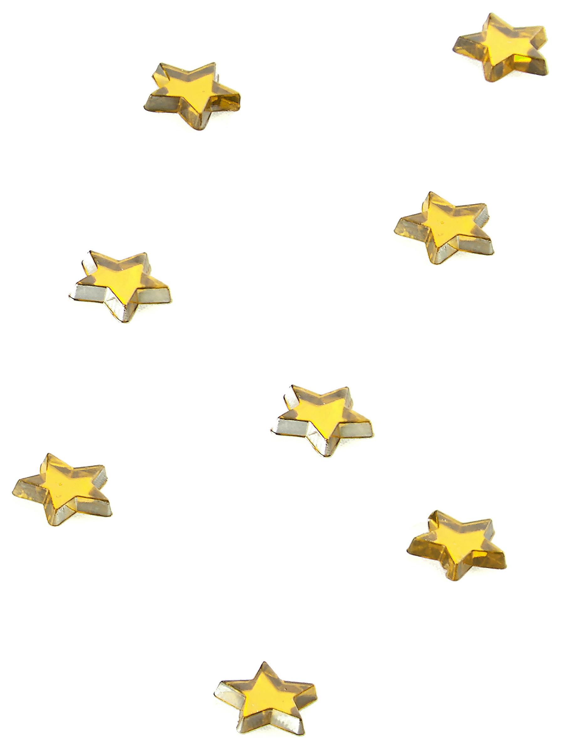 48 stelle specchio dorate 1 x 1cm su VegaooParty 40a0e56d2558