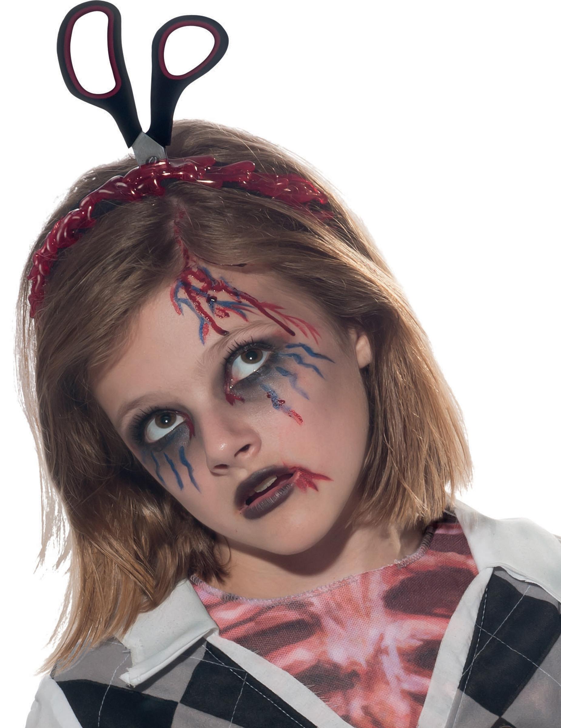 scarpe di separazione codice coupon 2020 Cerchietto con forbici Halloween bambini su VegaooParty, negozio di  articoli per feste