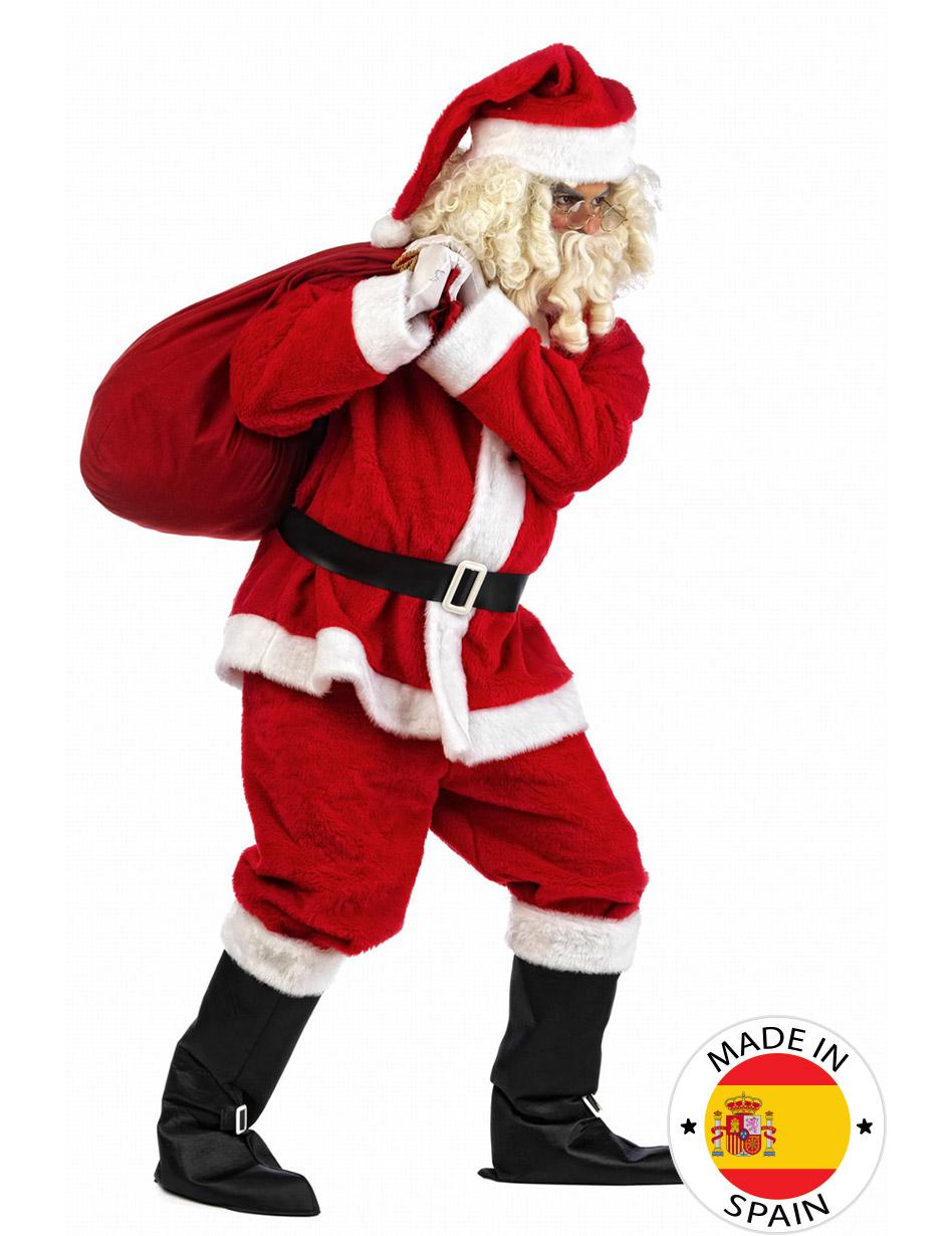 Babbo Natale Peluche.Costume Babbo Natale Peluche Uomo Su Vegaooparty Negozio Di Articoli Per Feste