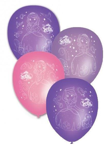 8 palloncini con l 39 immagine della principessa sofia su - Immagine con palloncini ...