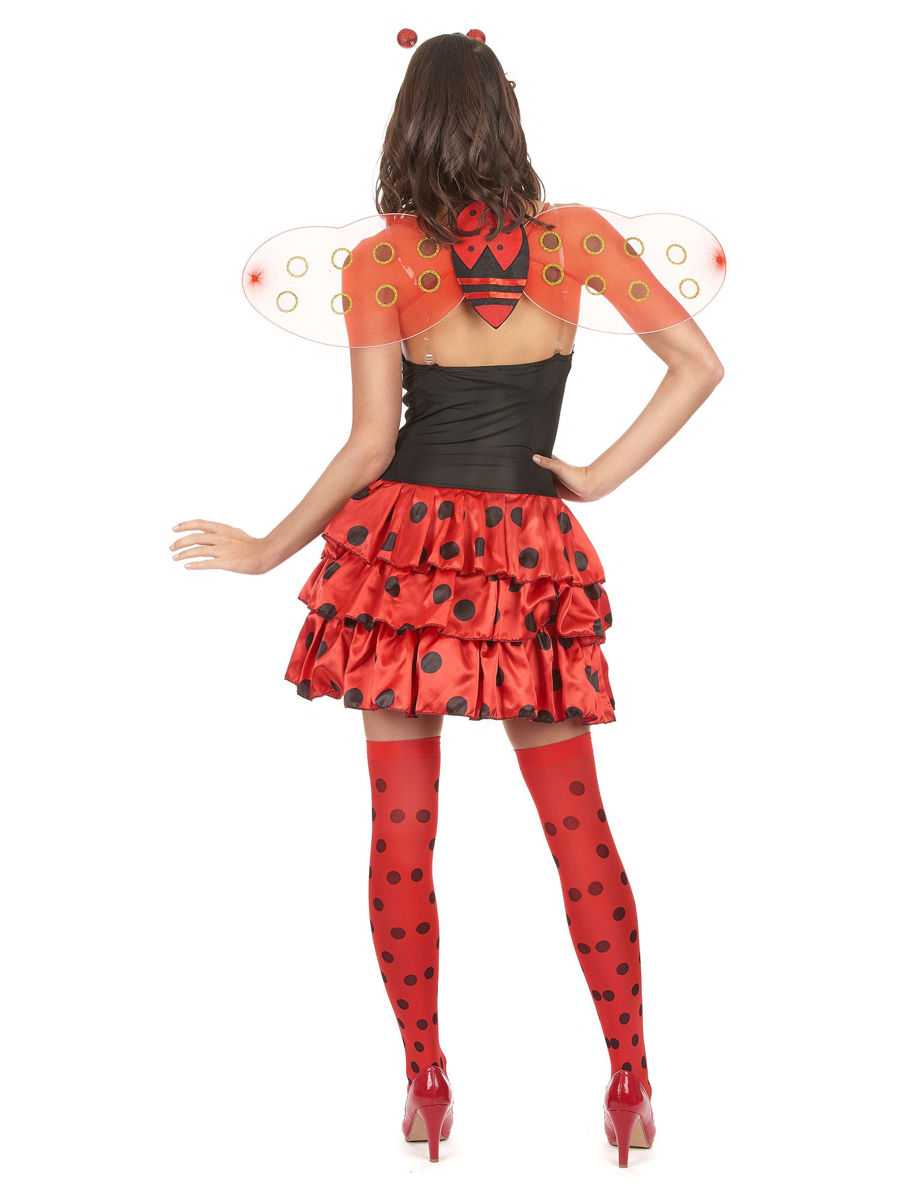 Costume coccinella sexy da donna su VegaooParty 61b153046d9