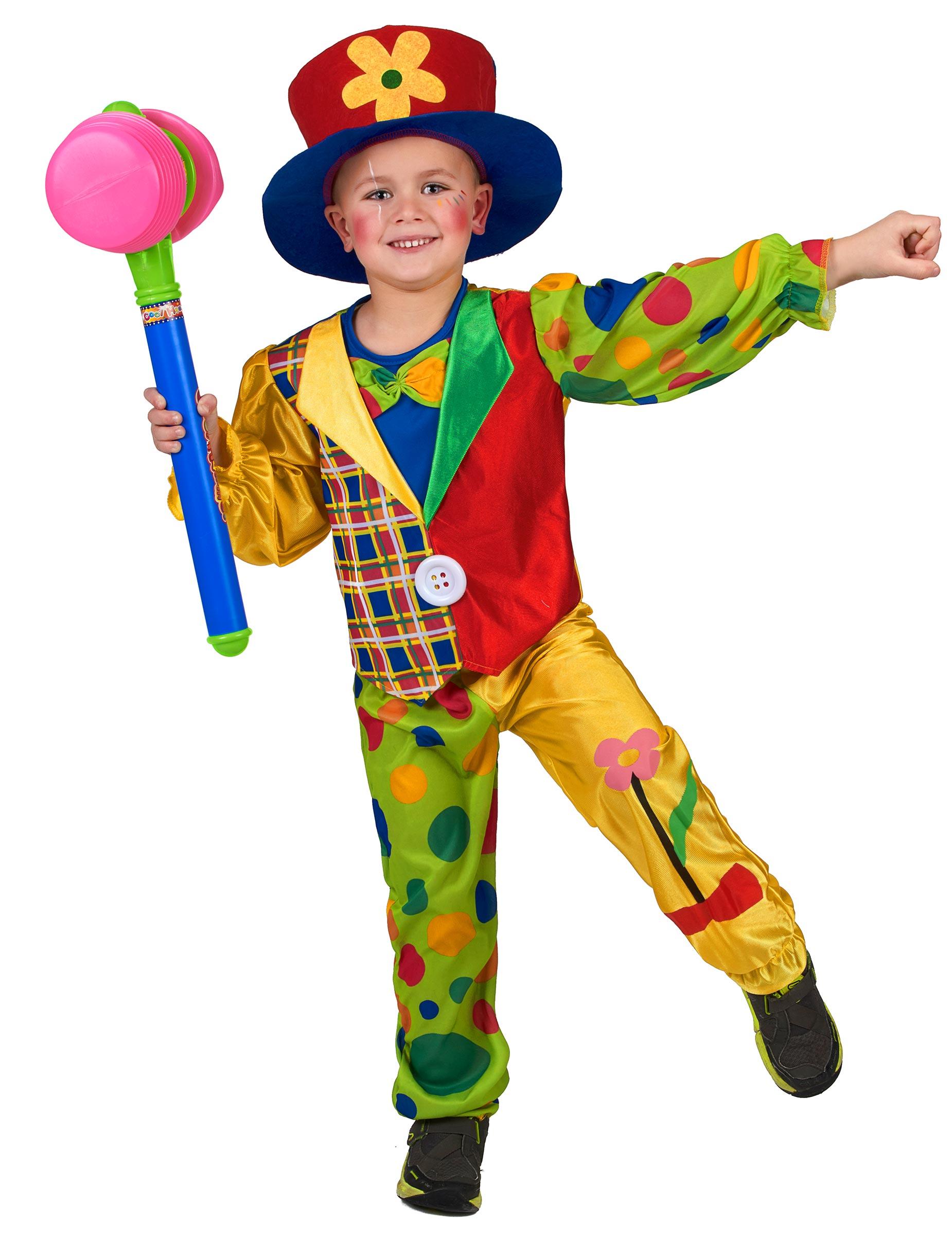 Costume per bambino da pagliaccio su VegaooParty d0af07a8c35