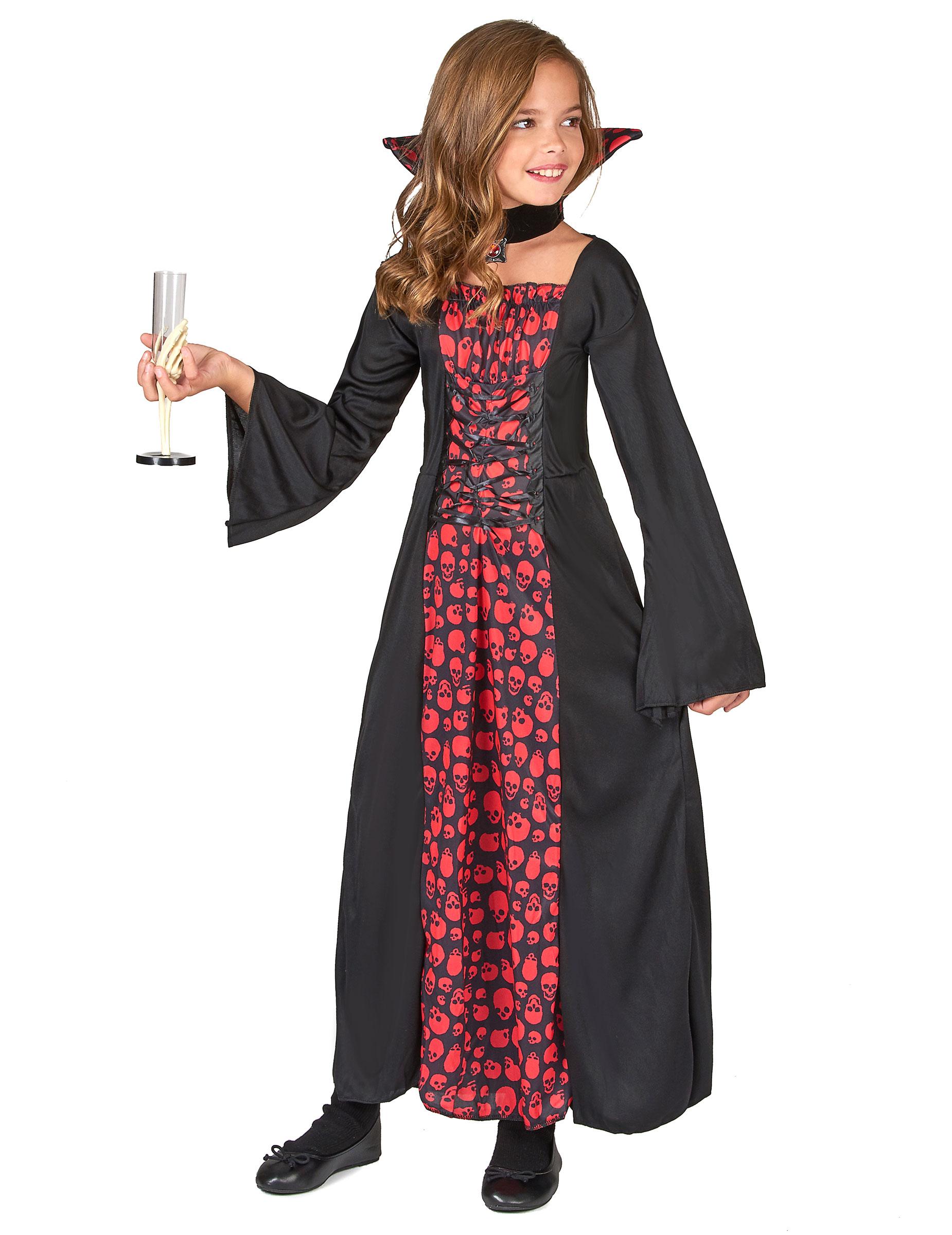 Costume vampira bambina su VegaooParty e17a69b184b6