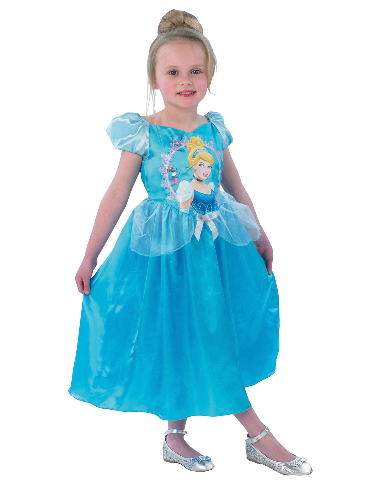 Più affidabile tecnologia avanzata piuttosto bella Costume da Cenerentola™ originale Disney Storytime™ per bambina su  VegaooParty, negozio di articoli per feste