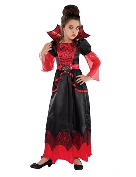 Costume da vampiro per bambina halloween su VegaooParty 0734c232bd65