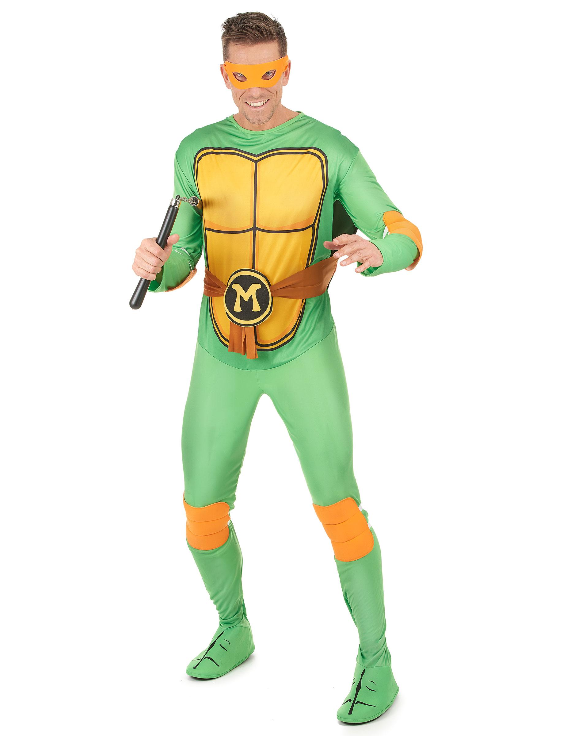 Costume Michelangelo Tartarughe Ninja Per Adulto Su Vegaooparty