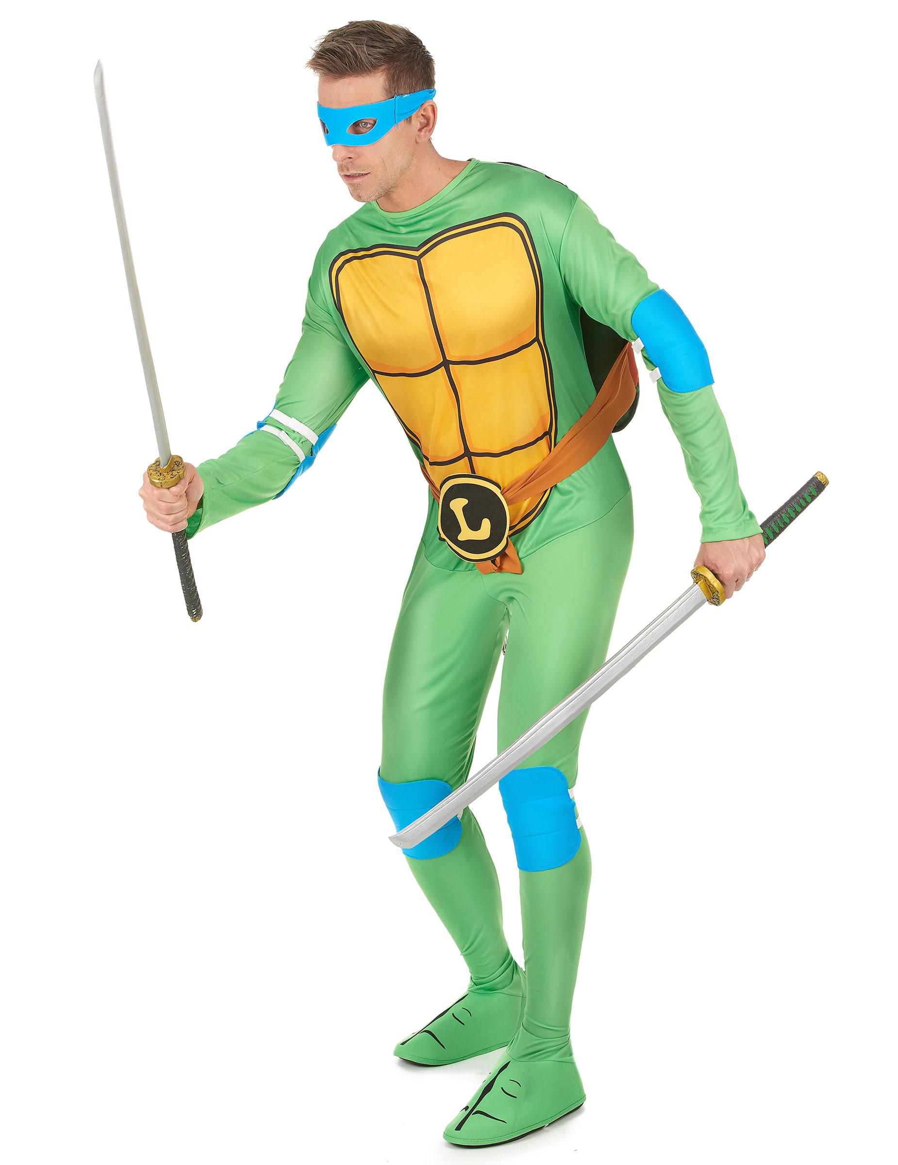 Costume Per Adulto Di Leonardo Delle Tartarughe Ninja Su