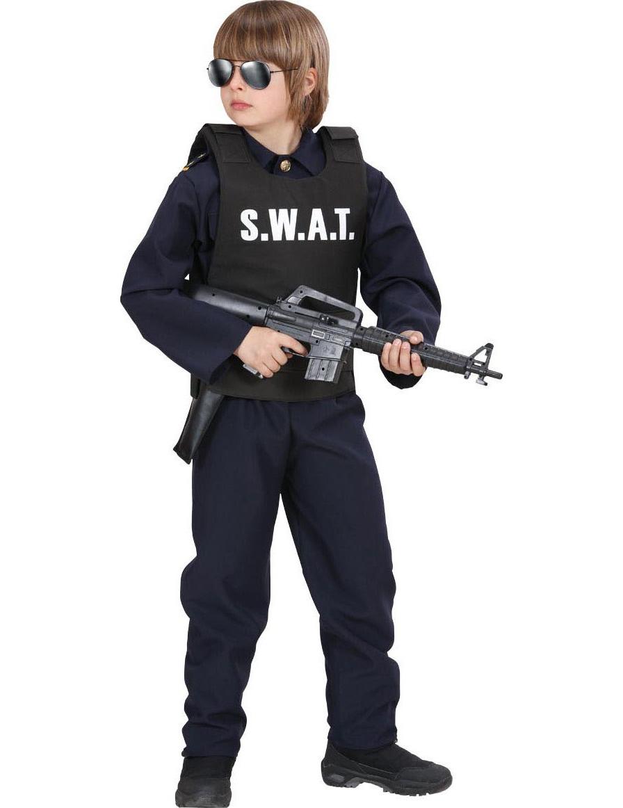 outlet in vendita scarpe originali scegli il meglio Giubbotto SWAT per bambino su VegaooParty, negozio di articoli per feste