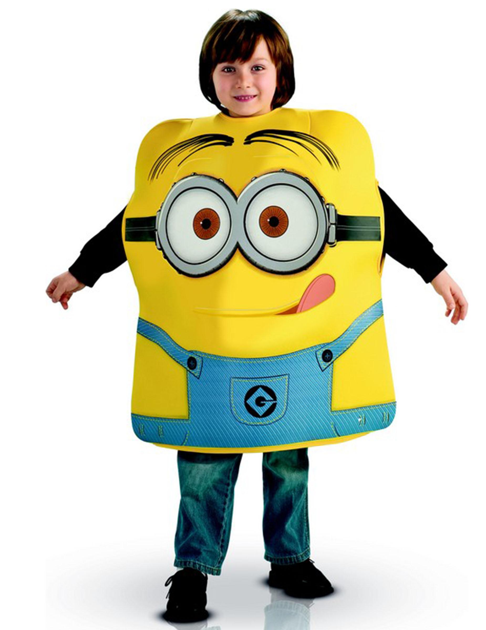 Costume in gomma piuma Dave dei Minion su VegaooParty 0a98f76d42a