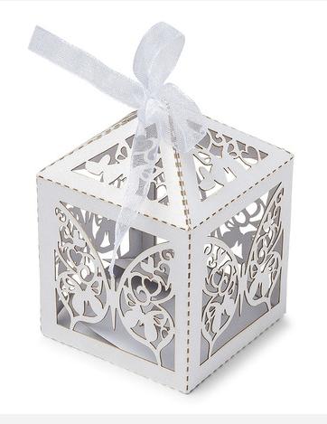 Favorito 20 scatoline di cartone con farfalle su VegaooParty, negozio di RJ51