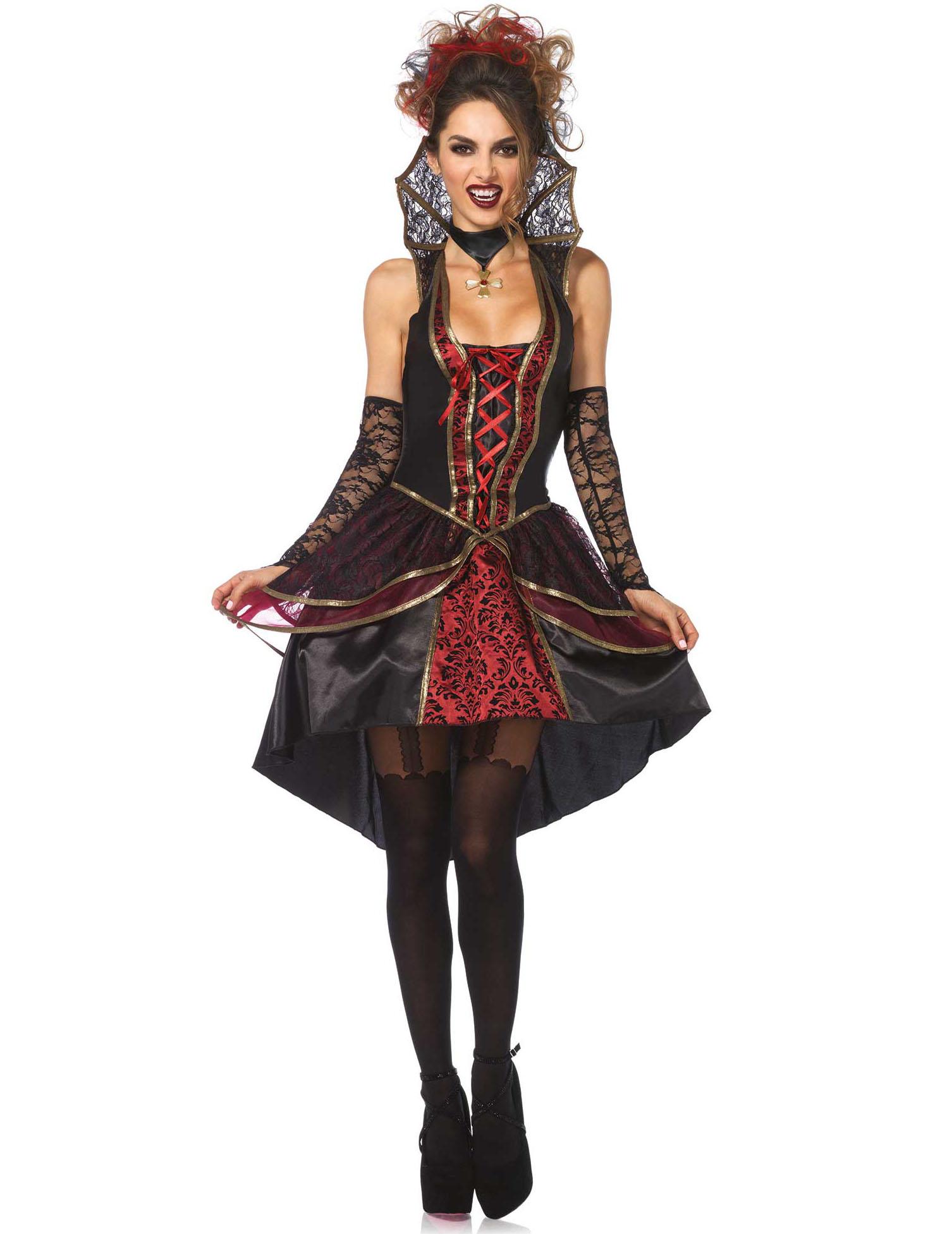Costume da donna Vampiro sexy Carnevale su VegaooParty 0efef4bcb19e