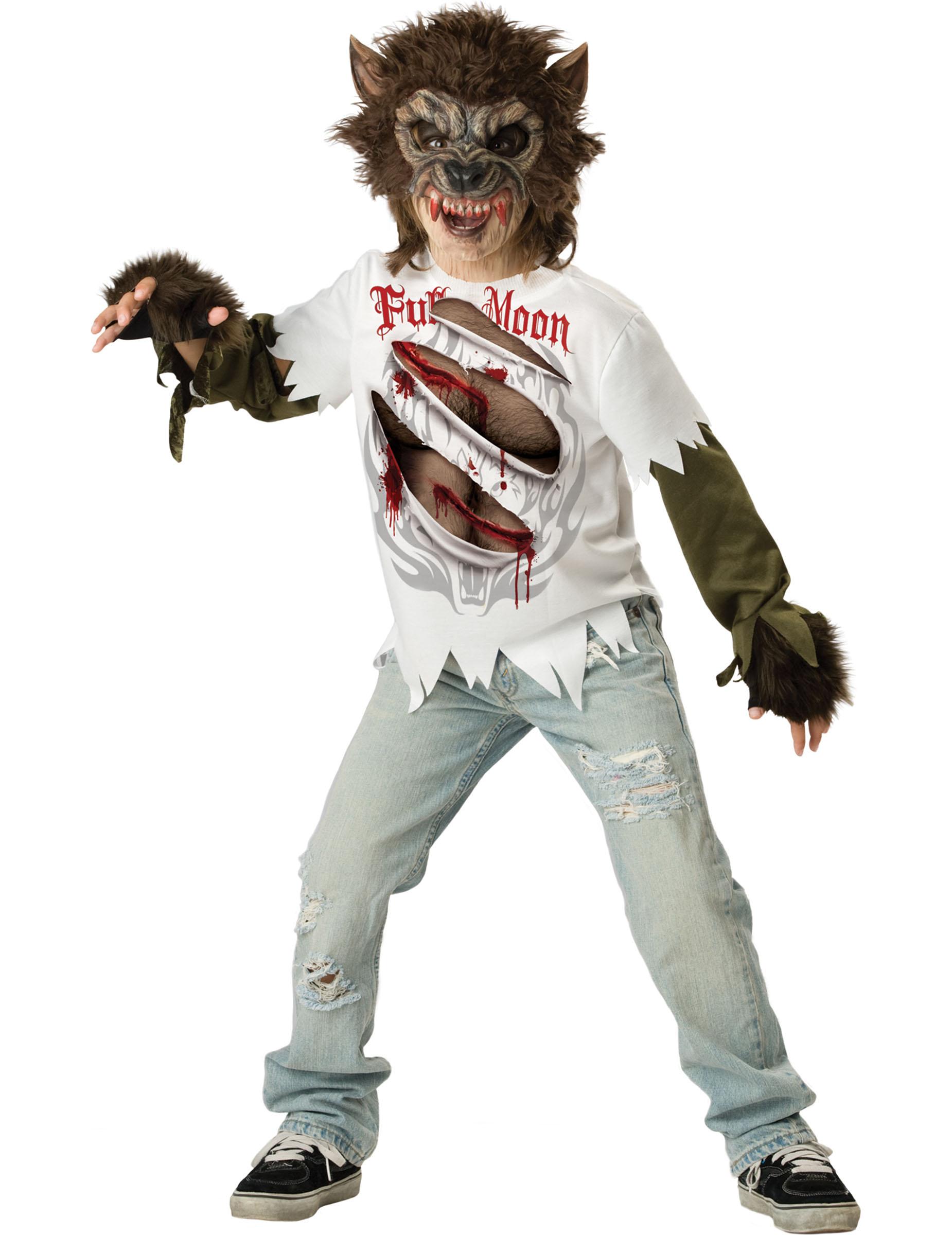 Halloween vip heidi klum è un lupo mannaro versione thriller