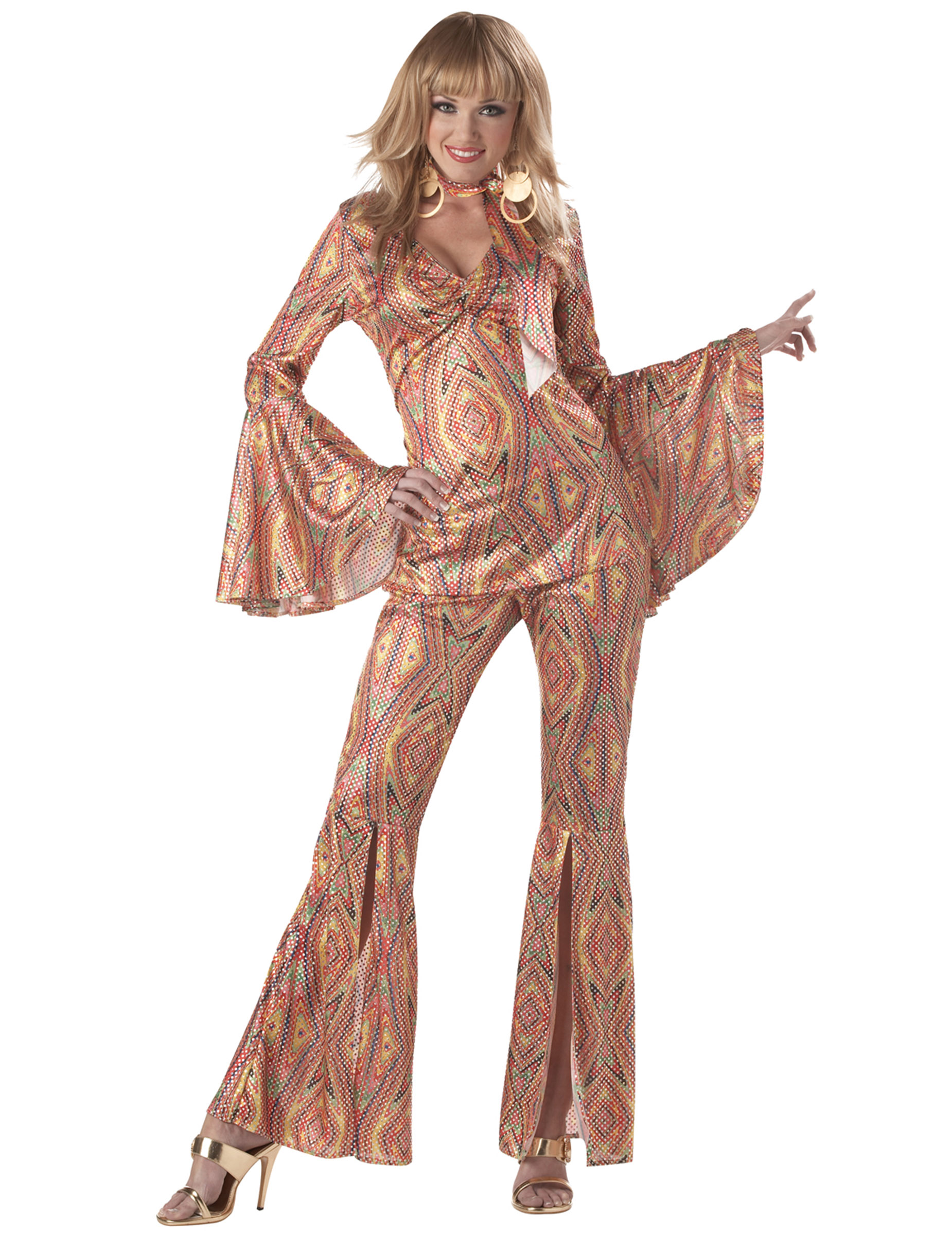 prezzo basso fabbrica negozio online Costume Disco anni '70 da donna su VegaooParty, negozio di articoli per  feste