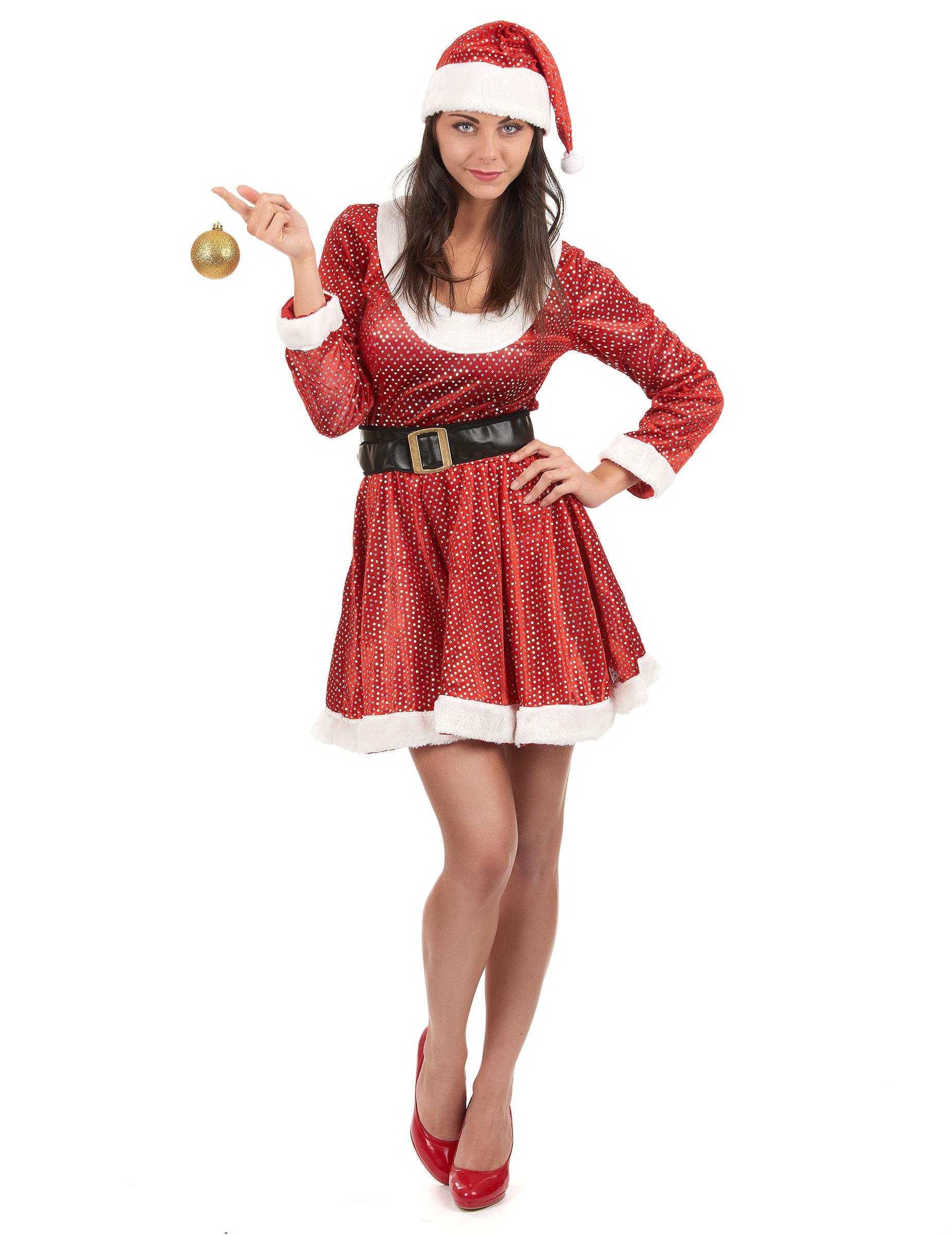 Immagini Di Mamma Natale.Costume Di Mamma Natale Da Donna Su Vegaooparty Negozio Di Articoli Per Feste