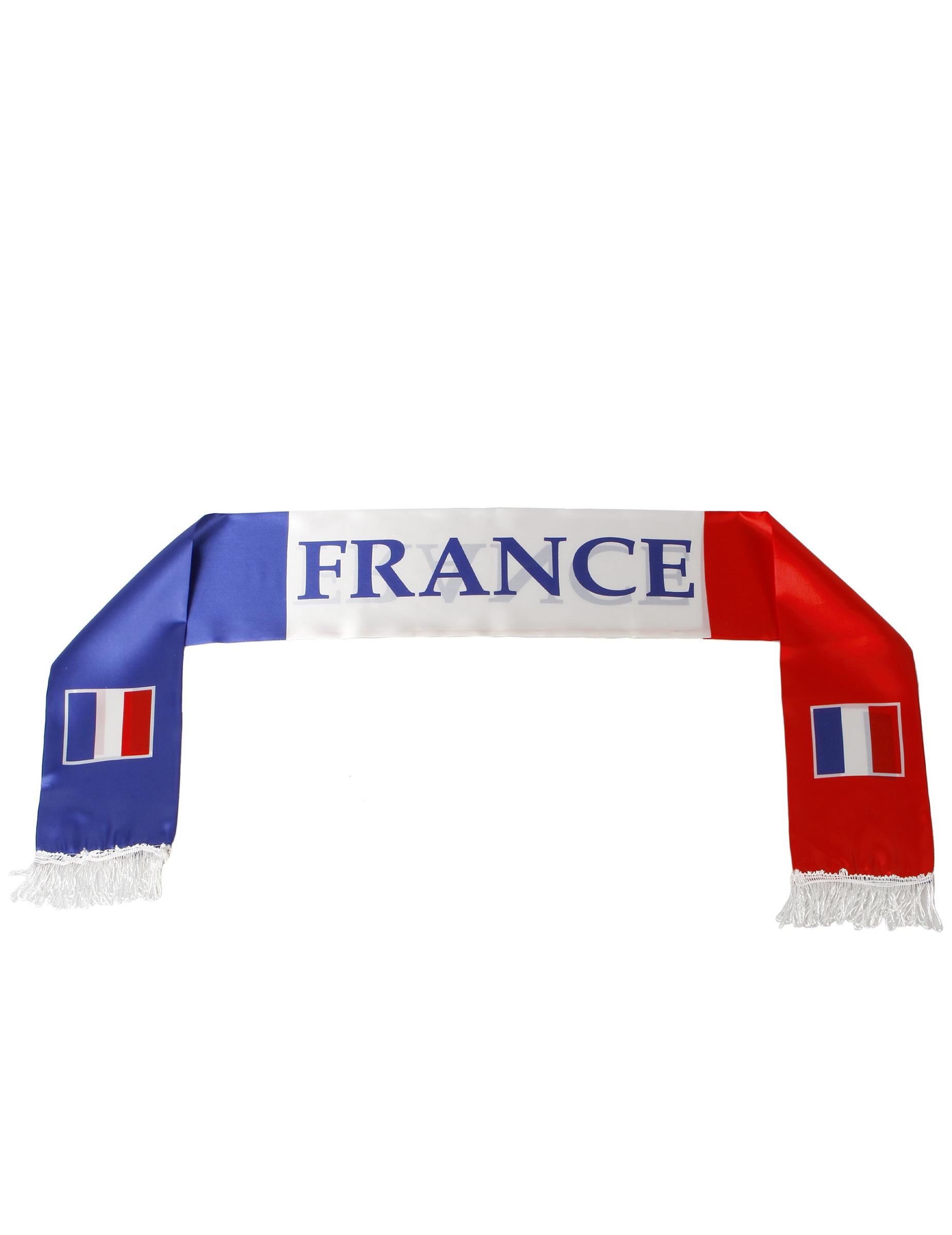 Sciarpa con tricolore francese