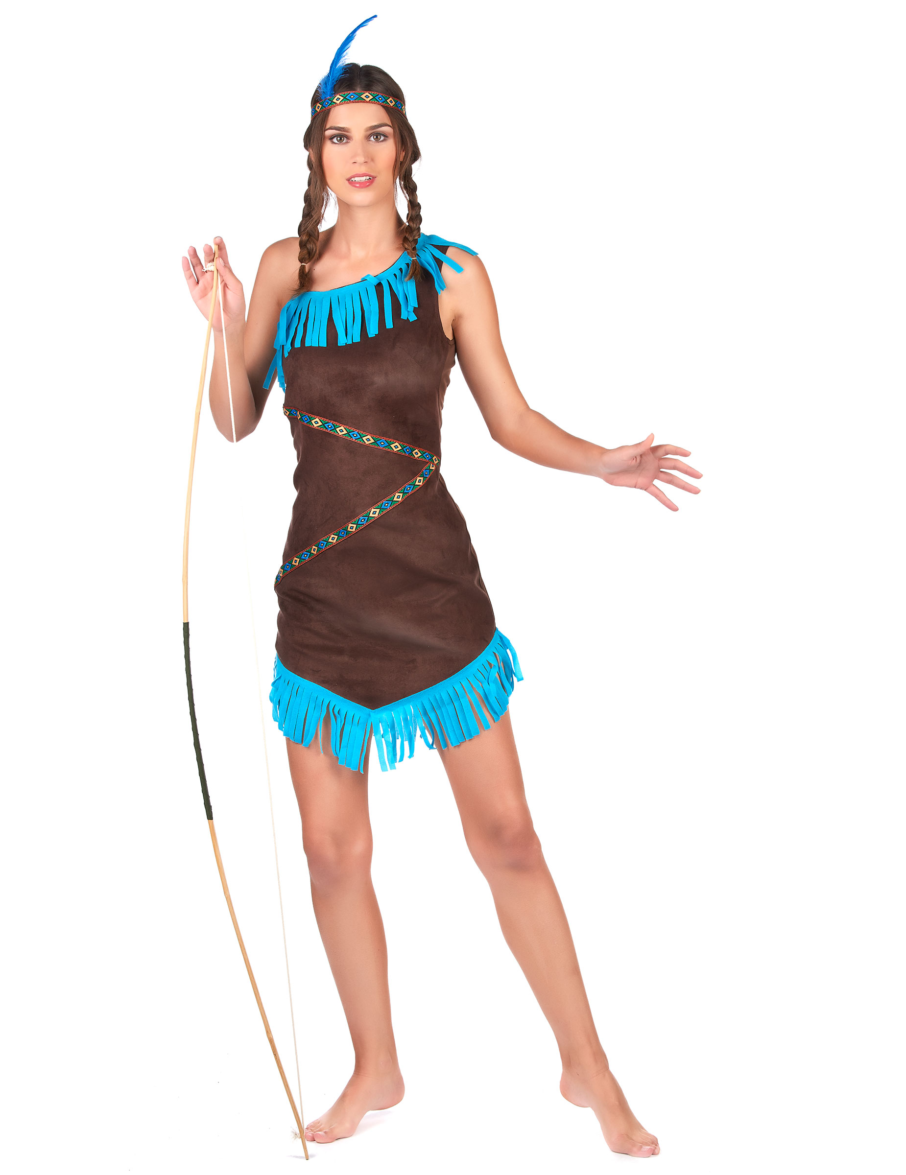 huge discount b2f18 21c7d Costume da Indiana monospalla donna su VegaooParty, negozio di articoli per  feste