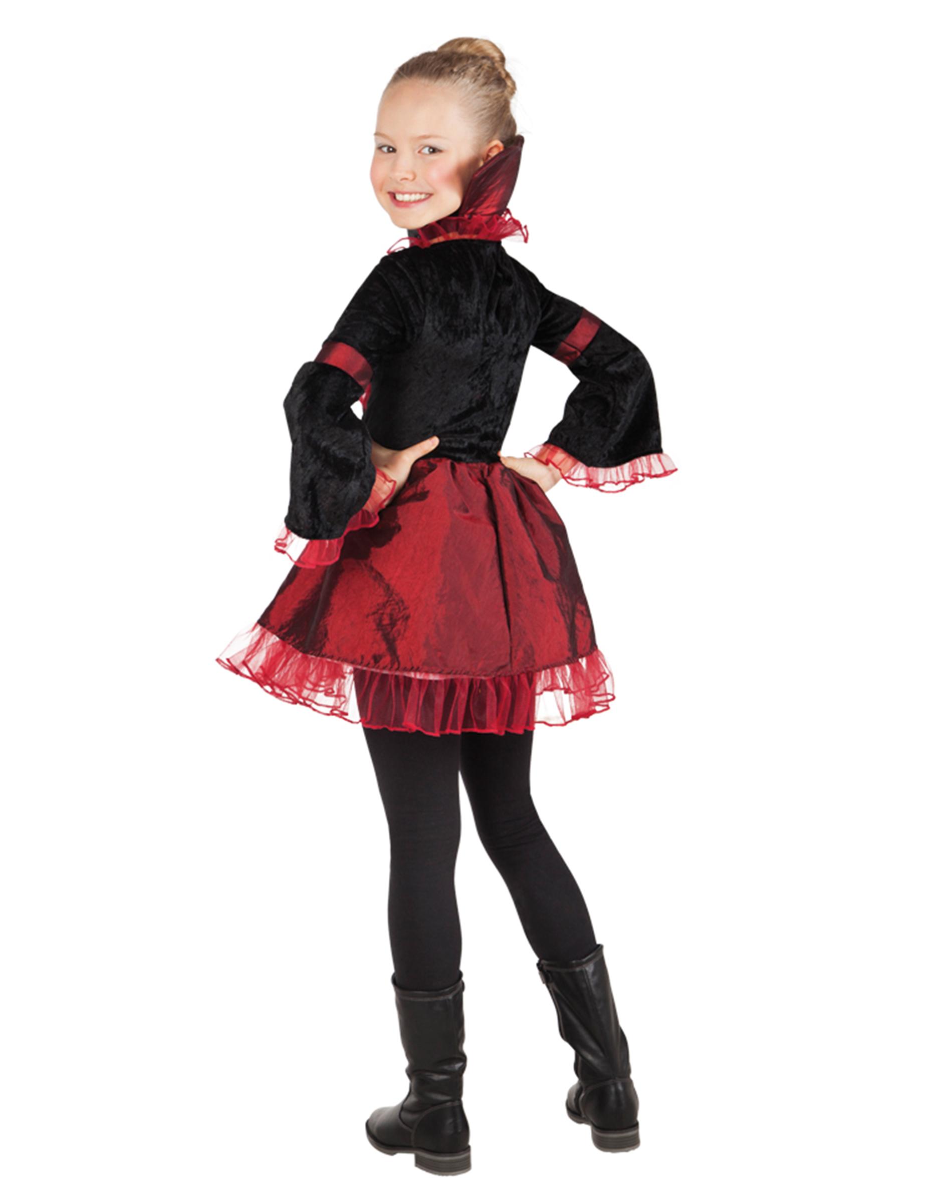 Costume imperatrice vampiro per bambina Halloween su VegaooParty ... 130f258a9b85