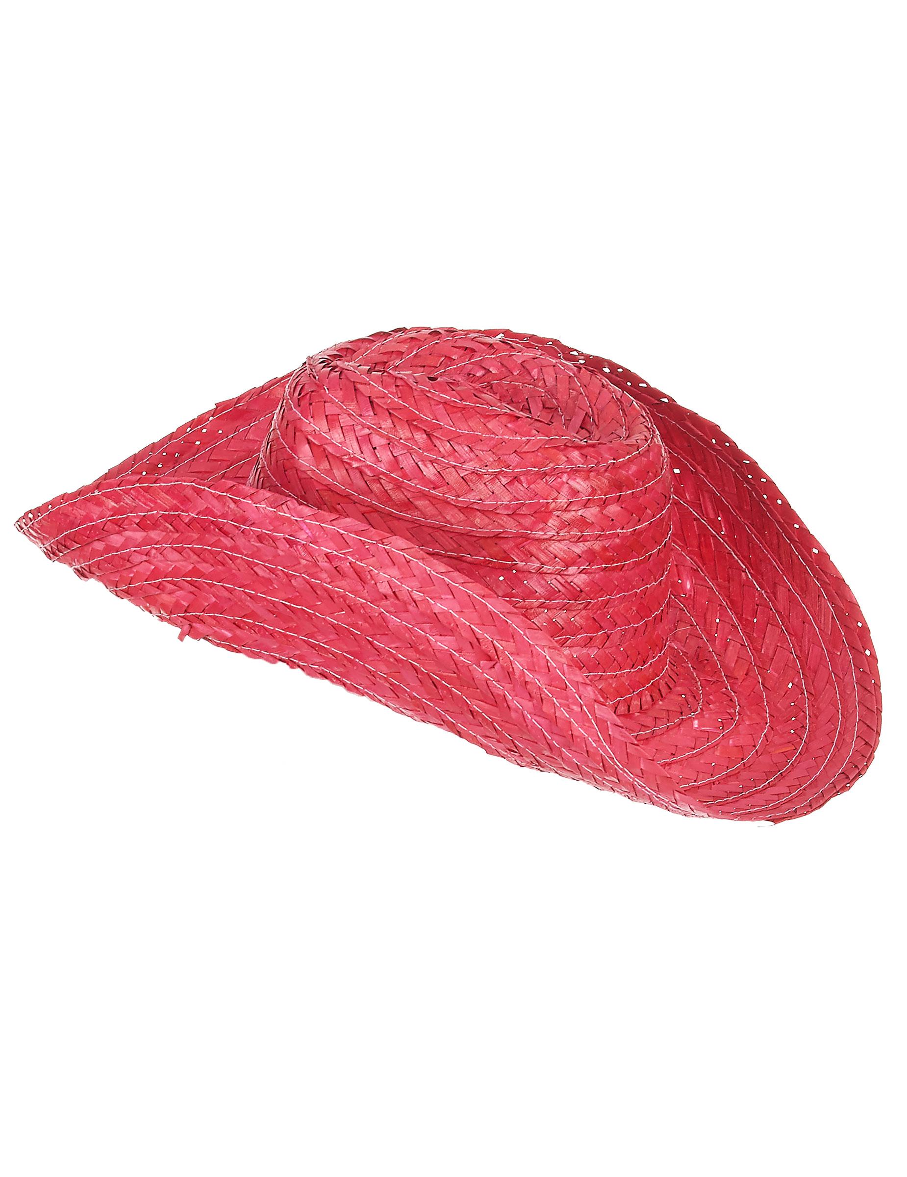Cappello da Cowboy rosa per adulti su VegaooParty 32eca164e33c