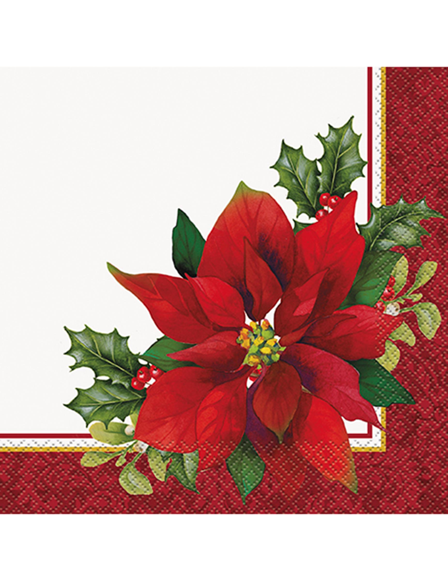 Tovaglioli Stella Di Natale.16 Tovaglioli Stella Di Natale Su Vegaooparty Negozio Di Articoli Per Feste
