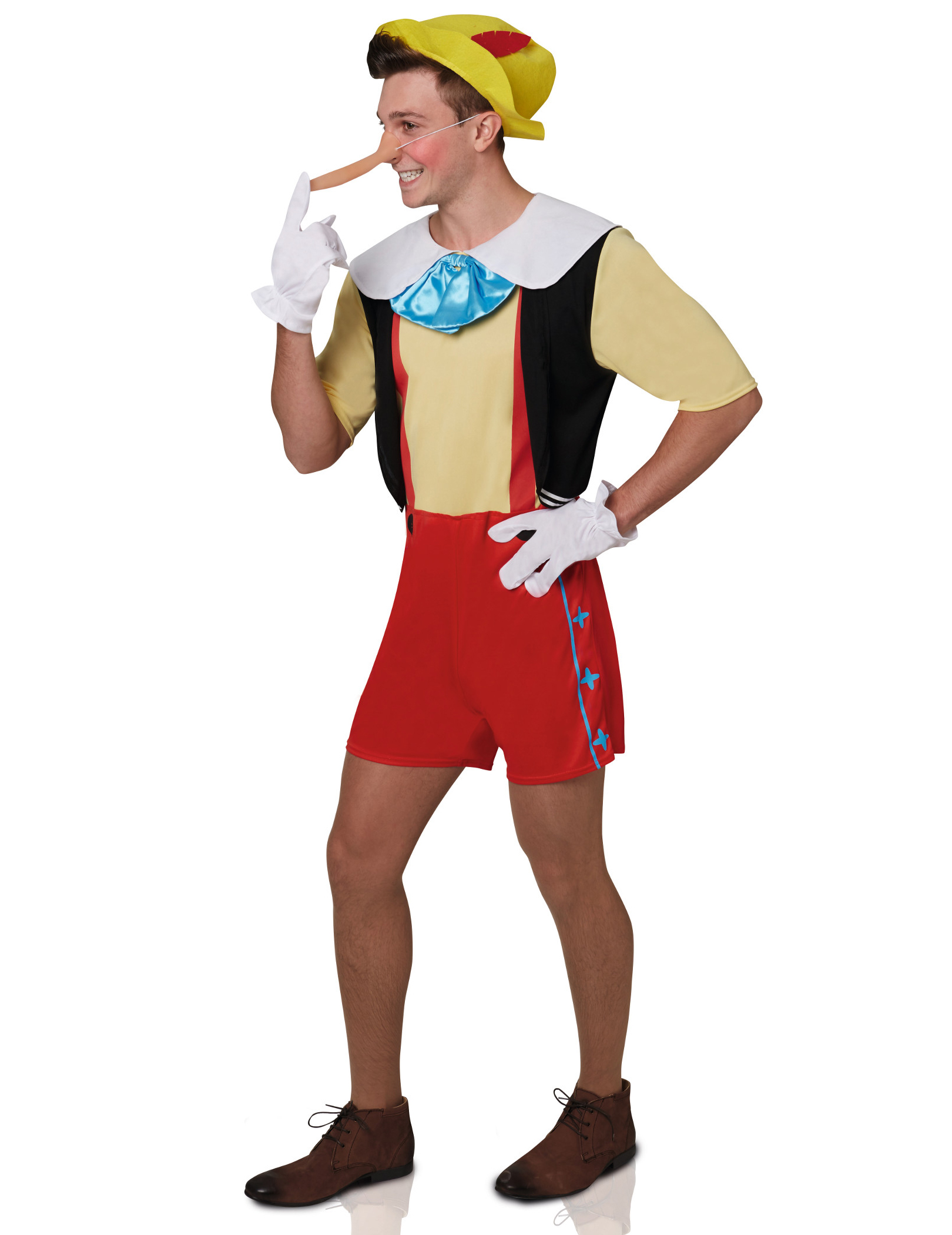 Costume Pinocchio™ per adulto su VegaooParty 92eaaeca37be