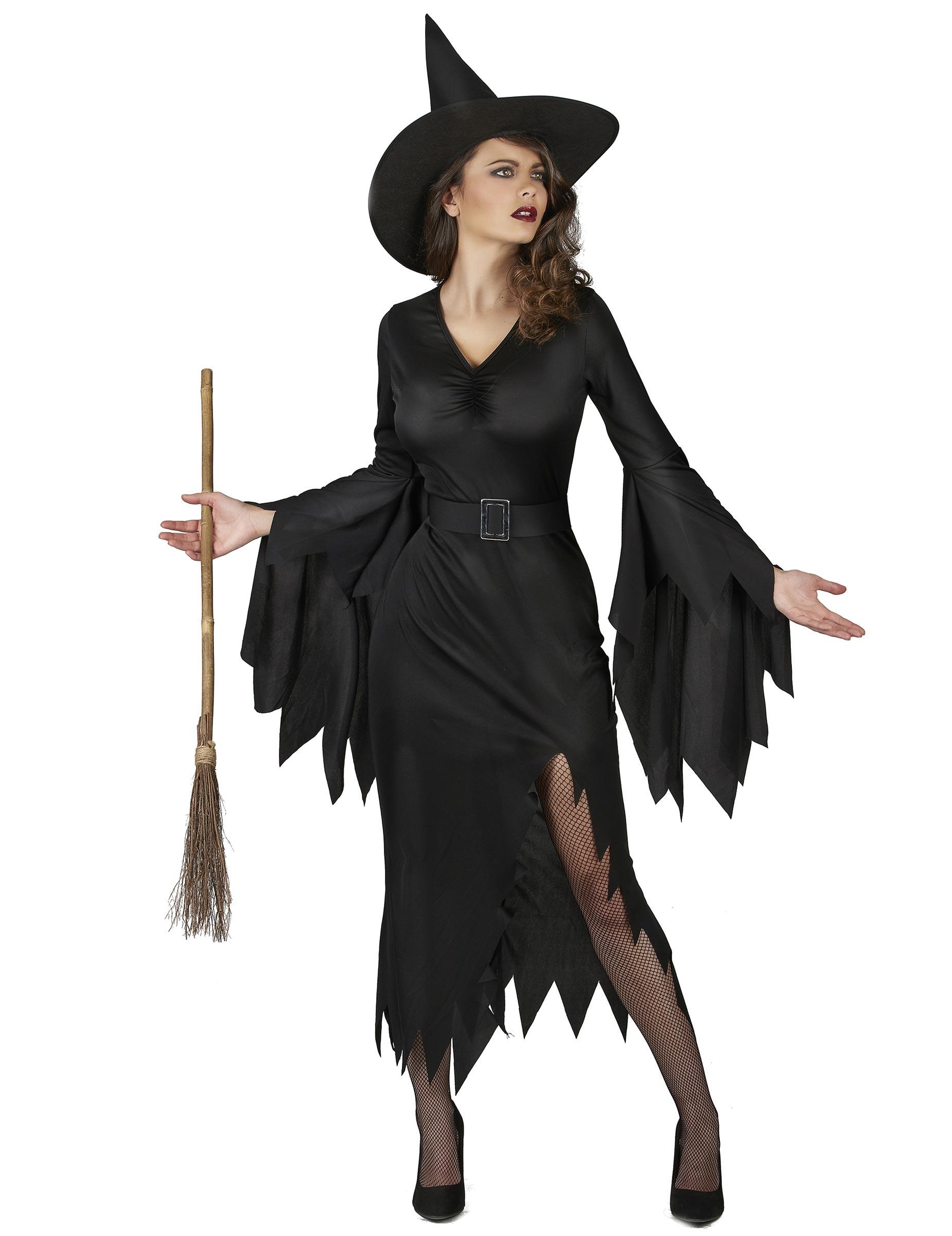 6d853610c342 Costume nero strega sexy da donna su VegaooParty, negozio di ...