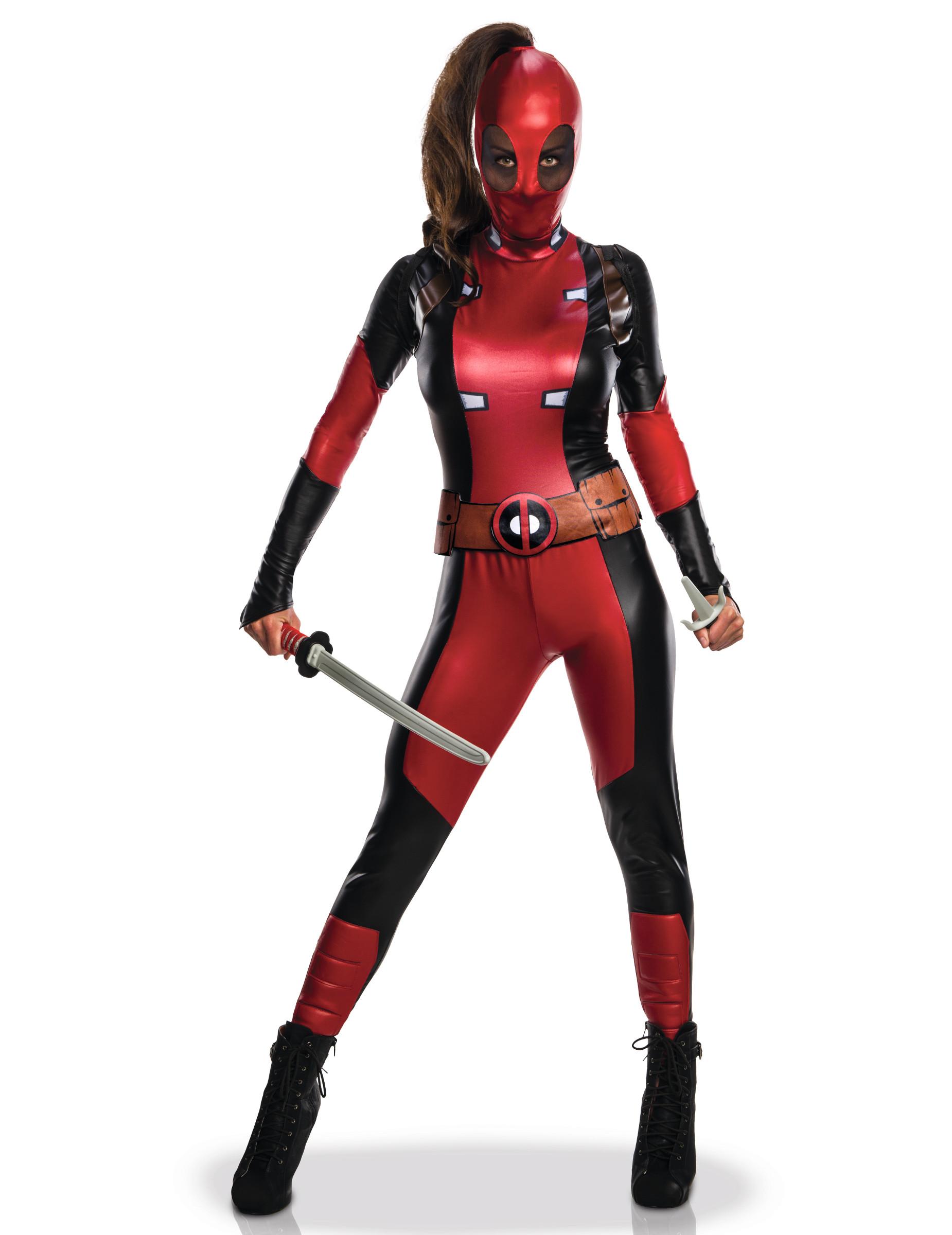 Costume Deadpool™ sexy da donna su VegaooParty 16ad2d0aed17