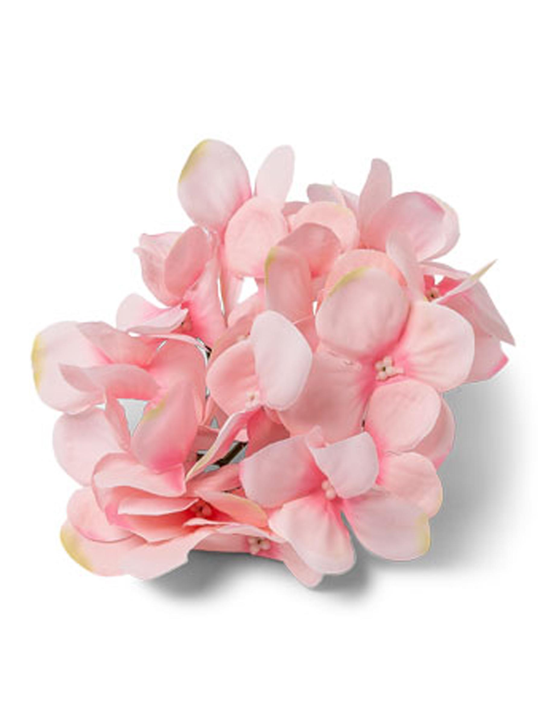Vaso Con Ortensie Finte 6 ortensie finte rosa su vegaooparty, negozio di articoli per feste