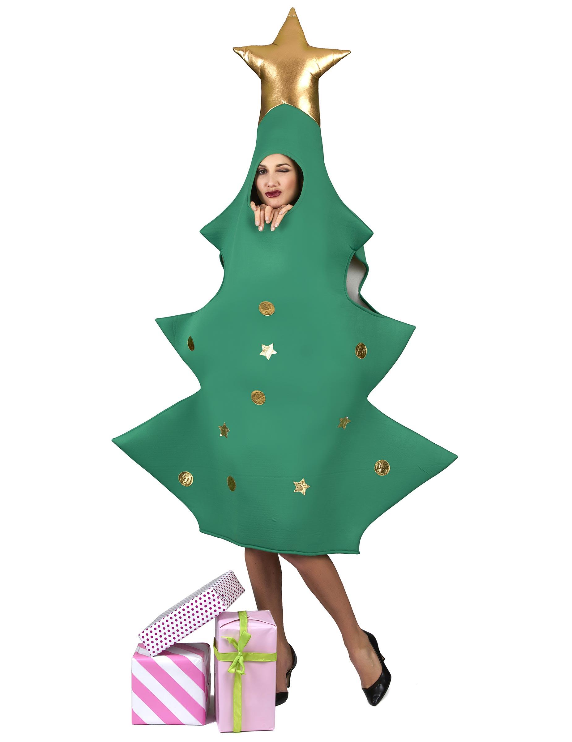 0ae5fbd993 Travestimento albero di Natale 3D per adulto su VegaooParty, negozio ...