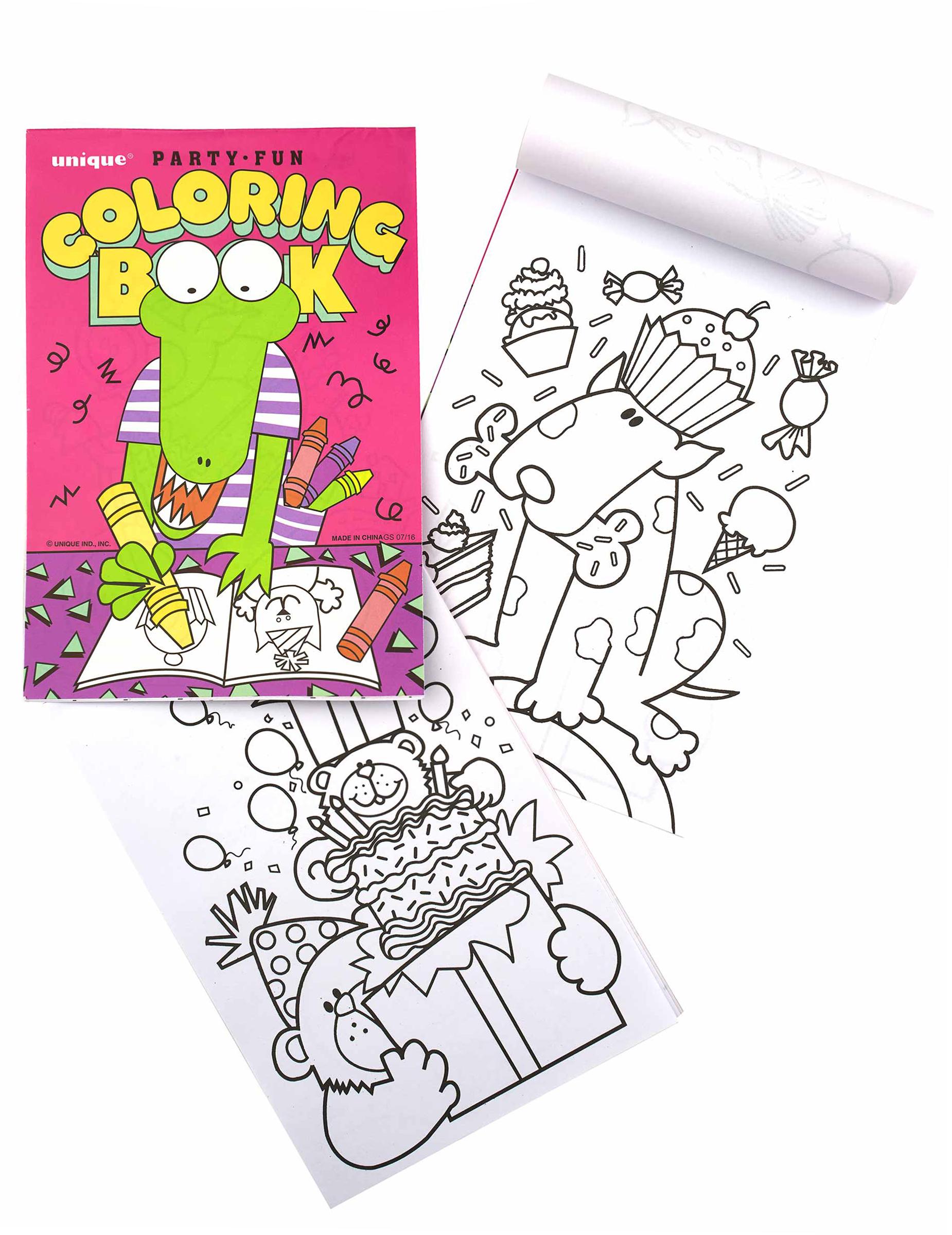 8 Libri Da Colorare Per Bambini Su Vegaooparty Negozio Di Articoli