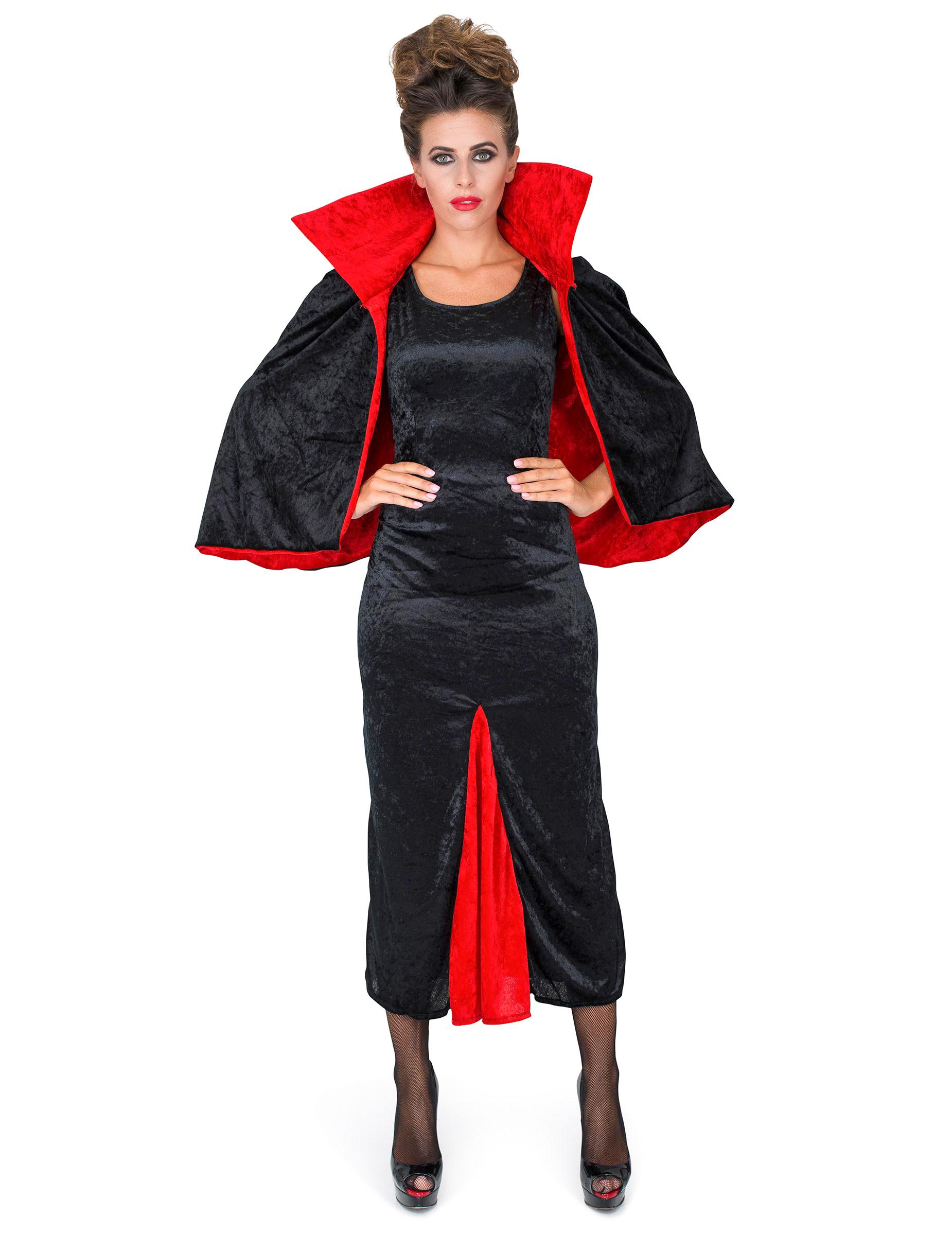 Vegaooparty Vampiro Halloween Contessa Da Su Donna Costume 74wxZPnqYE