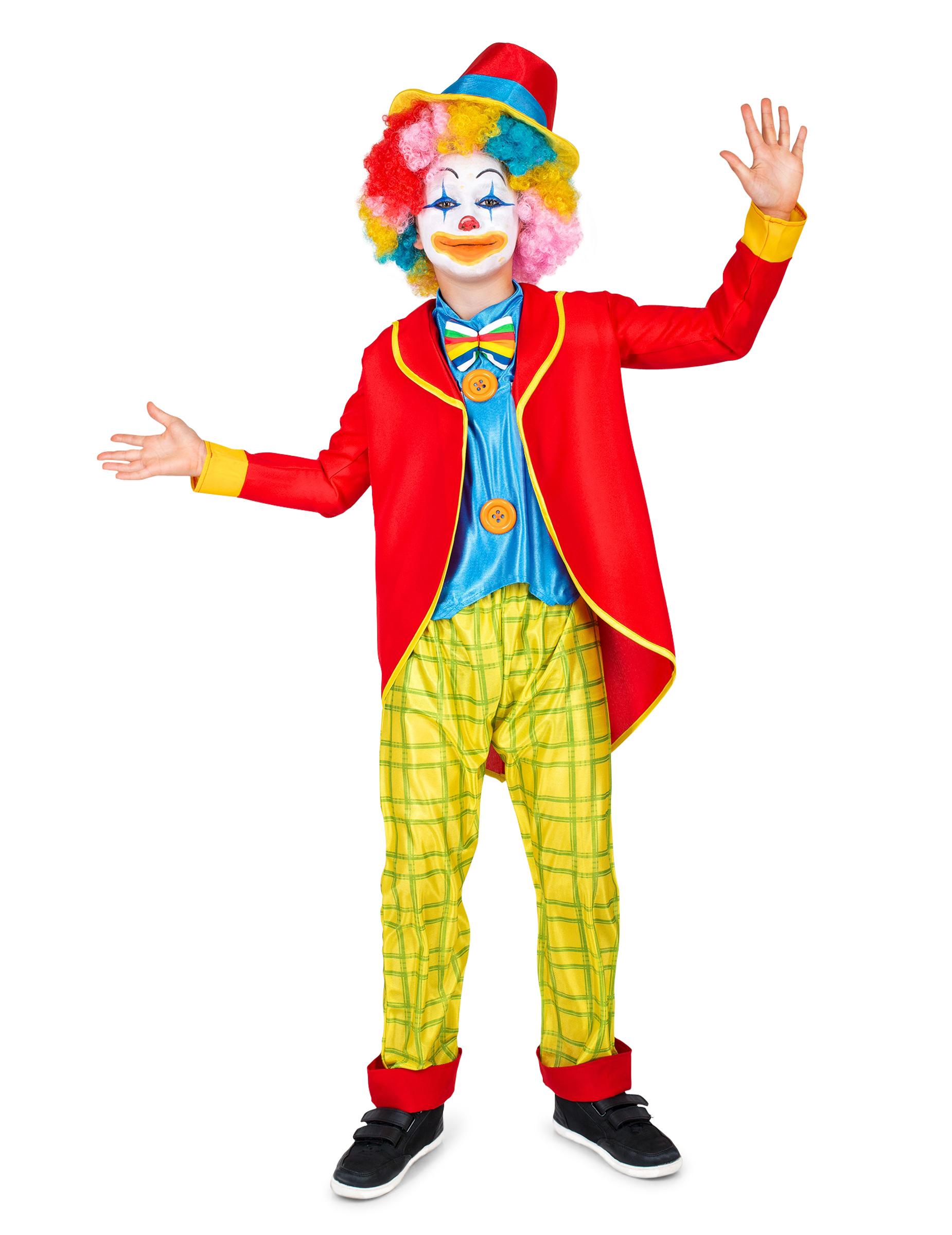 5d68114ab0b6 Costume da pagliaccio colorato bambino su VegaooParty