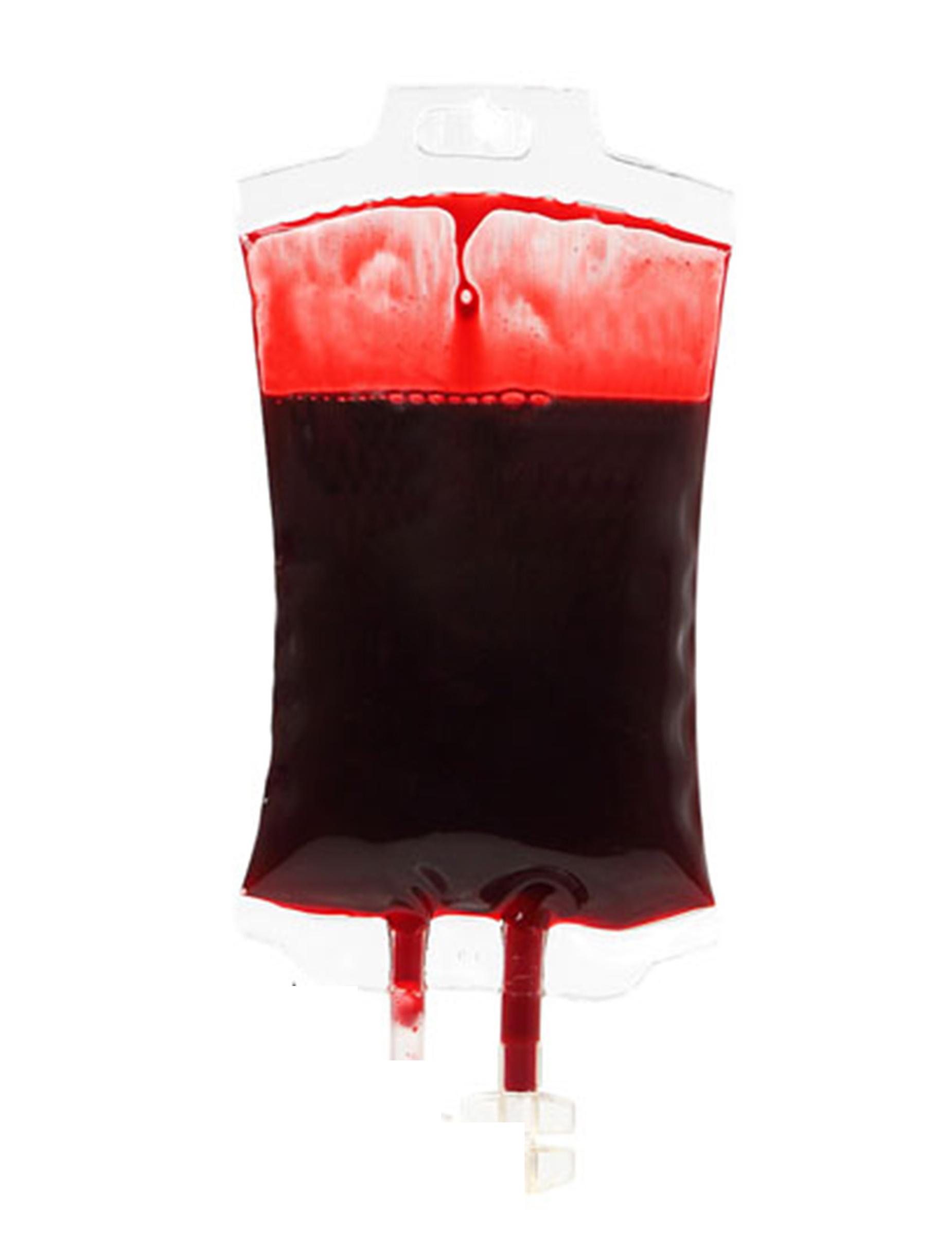 Decorazione sacca di sangue finto Halloween su VegaooParty bef235cfe95d