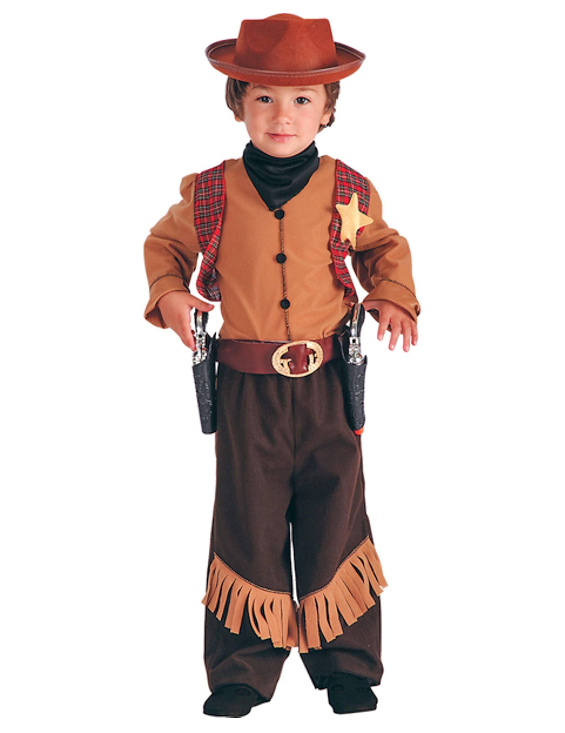 nuova collezione ultime tendenze massimo stile Travestimento da cowboy del west per bambino su VegaooParty, negozio di  articoli per feste