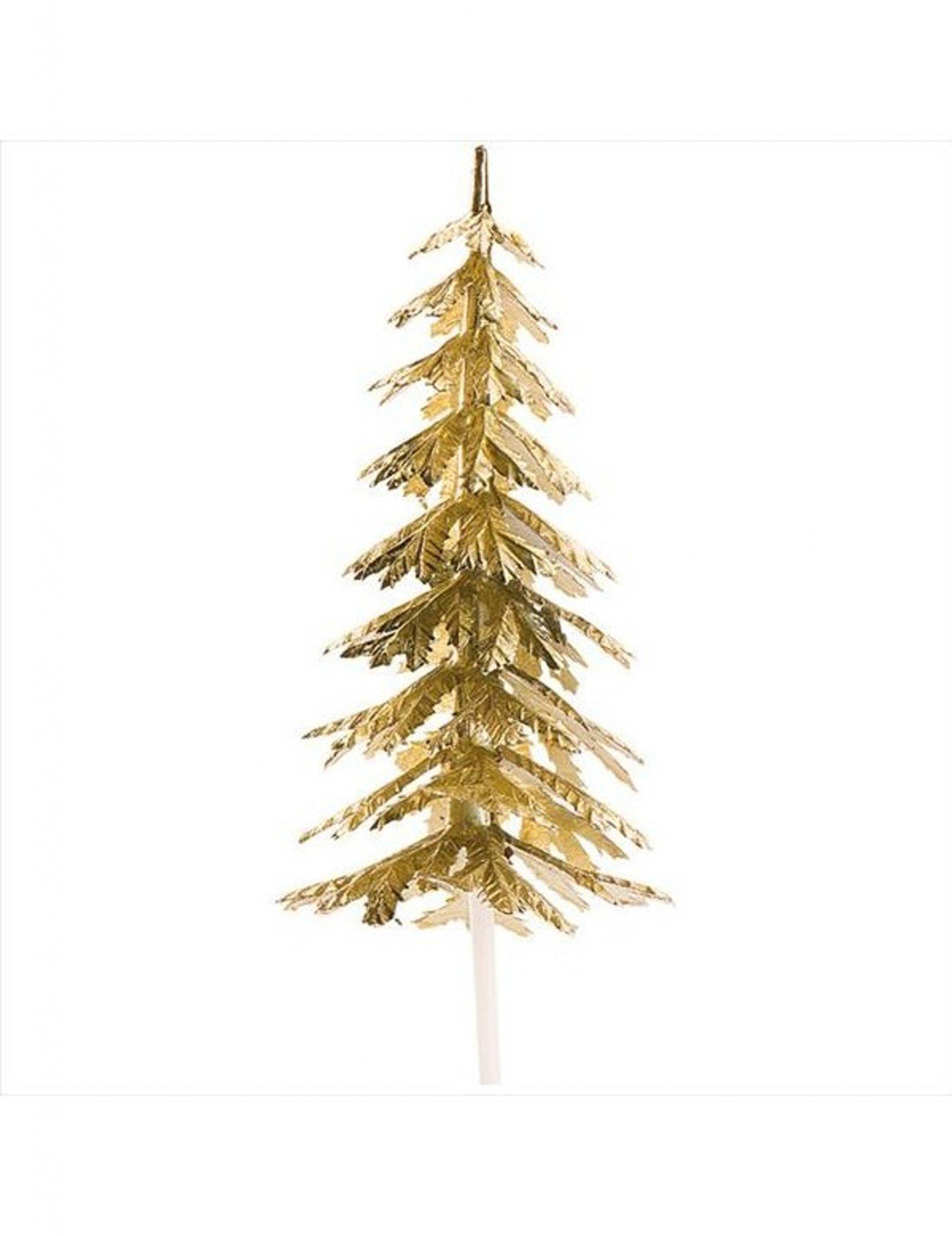 Decorazioni Natalizie Dorate.Decorazione Per Dolci Albero Di Natale Dorato Su Vegaooparty Negozio Di Articoli Per Feste